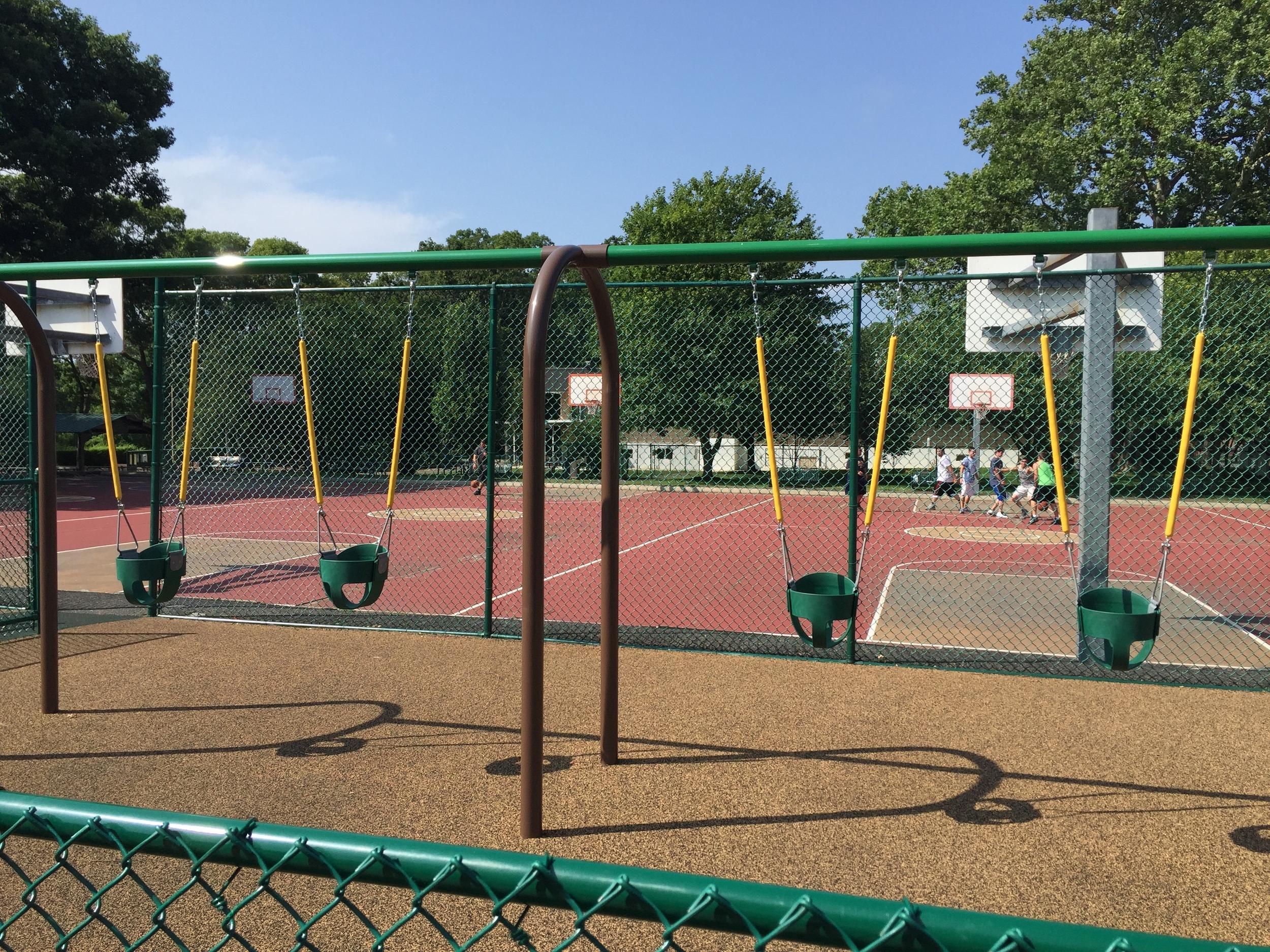Swings at Brady Park