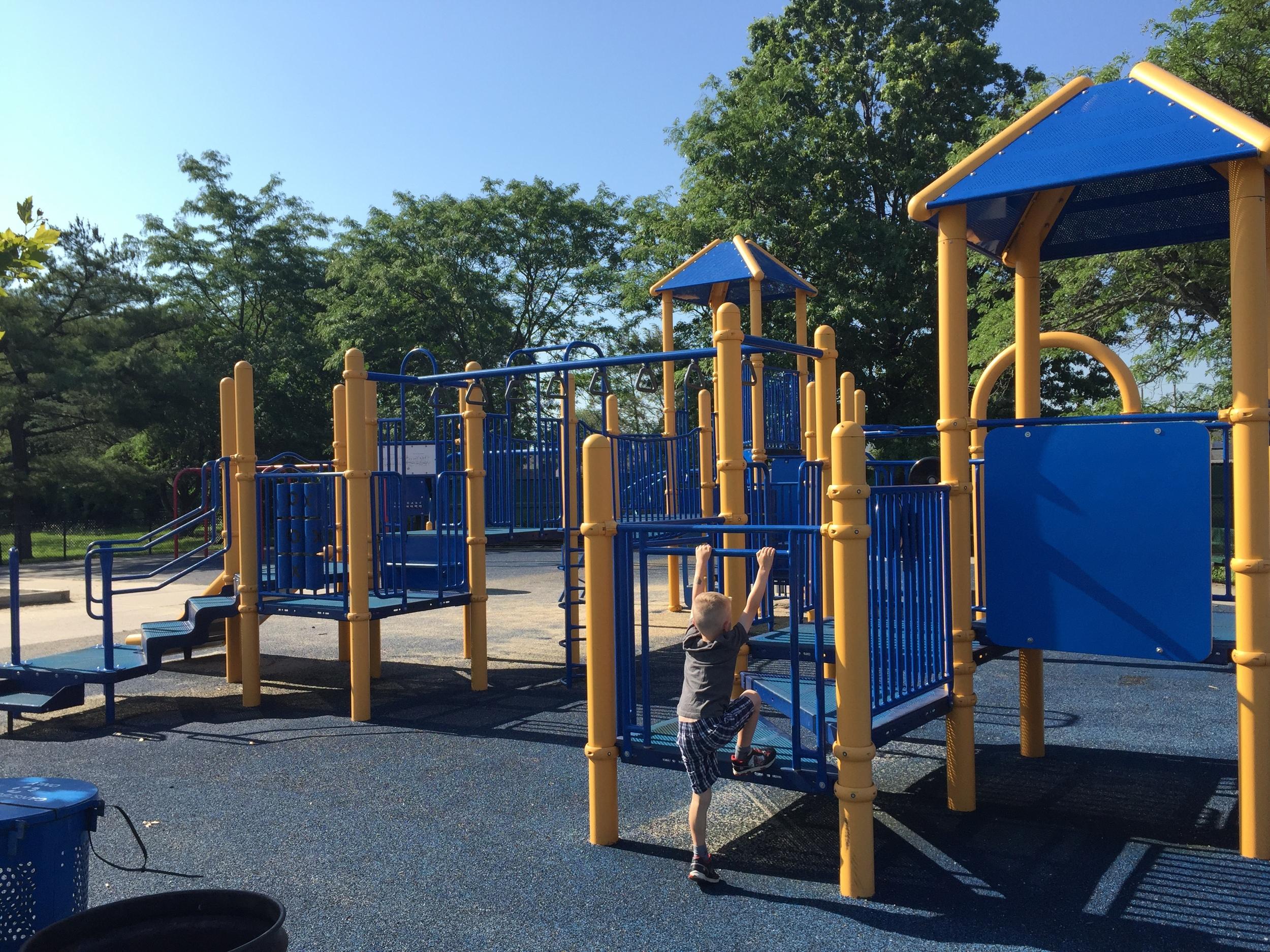 Big kid playground at Bethpage Community Park