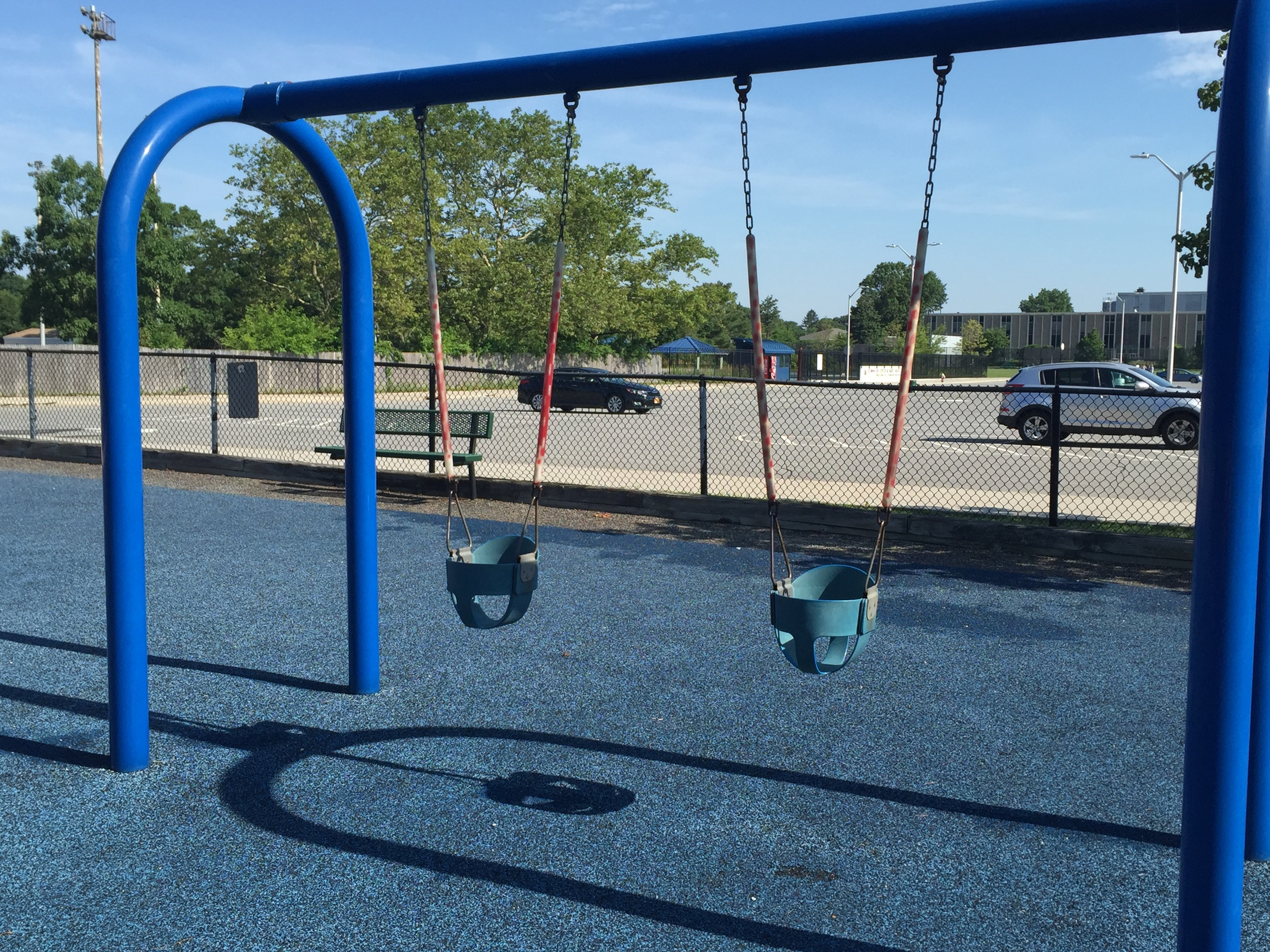 Swings at Bethpage Community Park