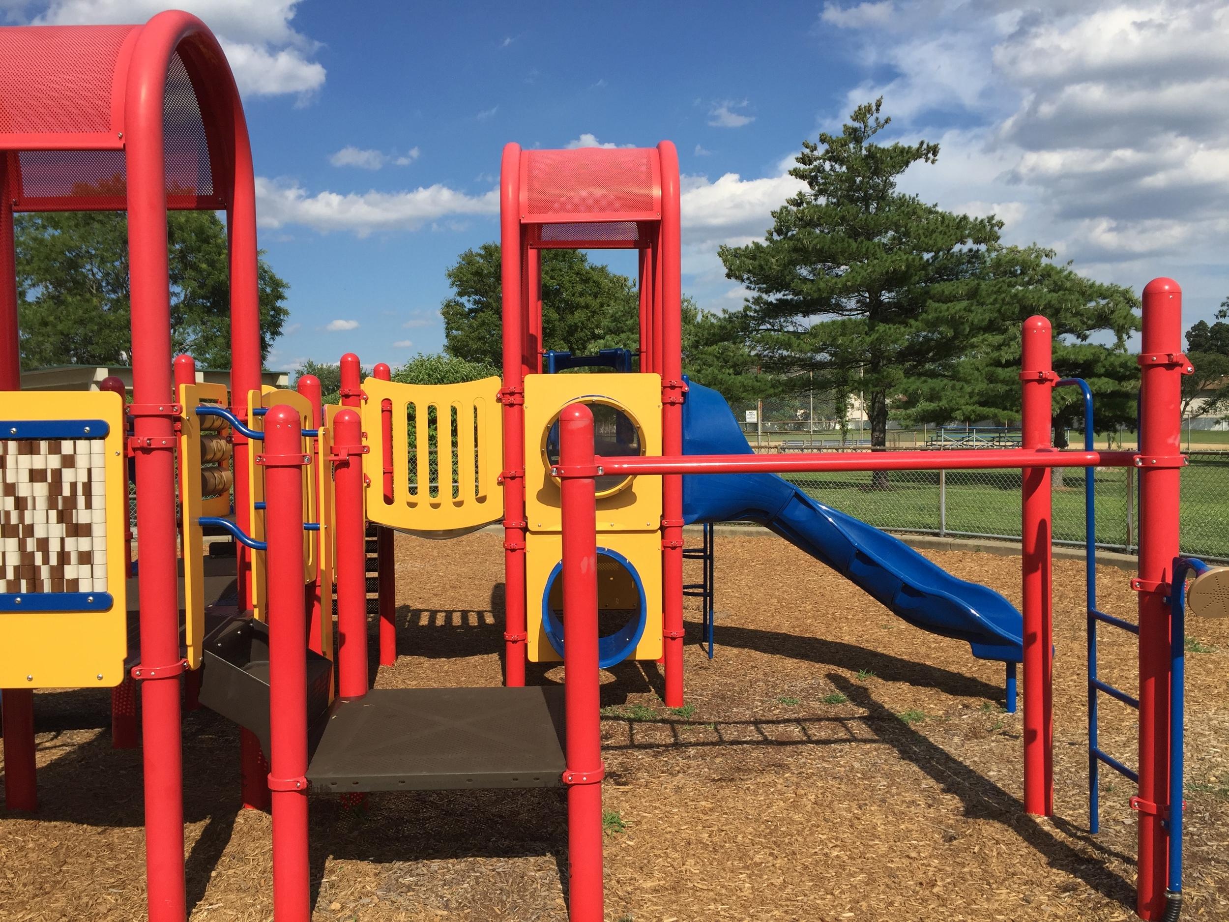 Little kid playground at Senator Speno Park