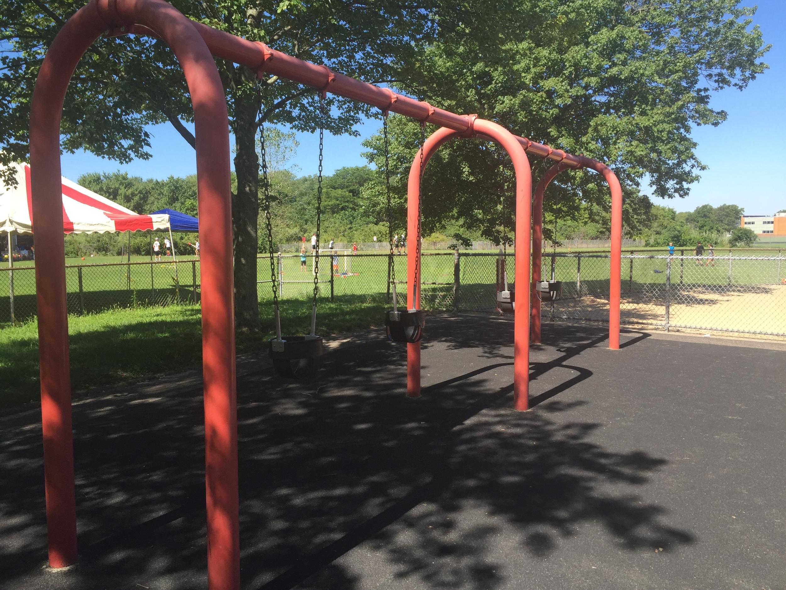 Swings at Baldwin Park