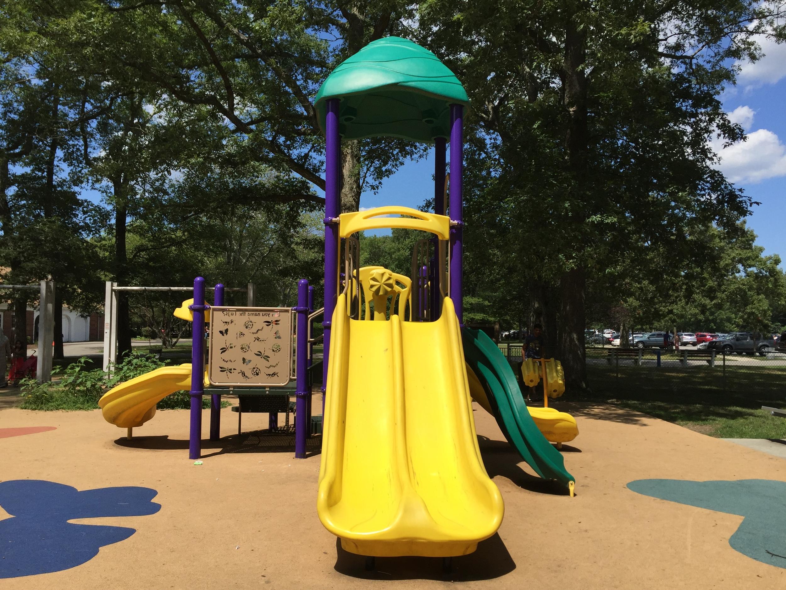 Little kid playground at Belmont Lake State Park