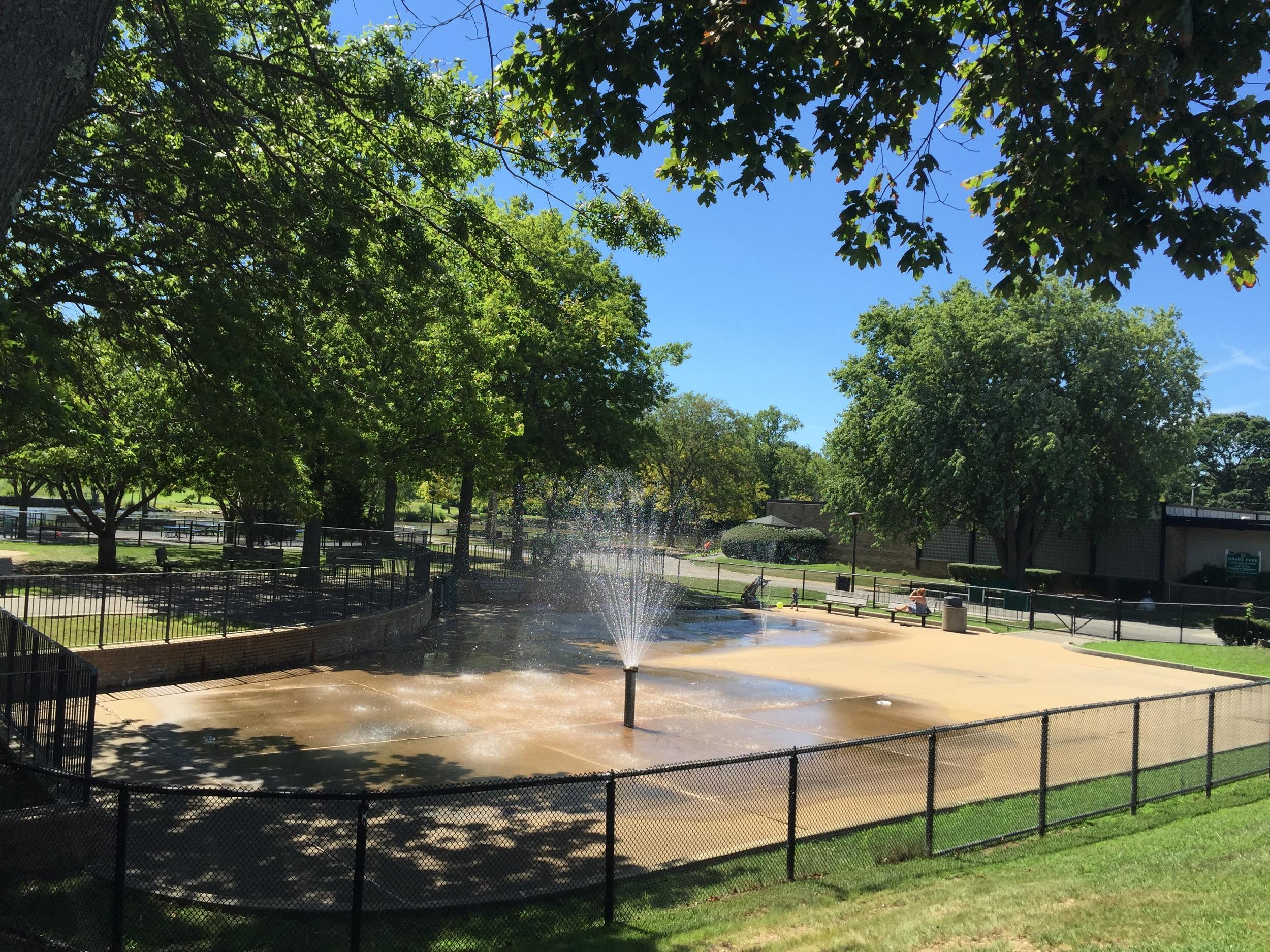 Sprayground at Grant Park