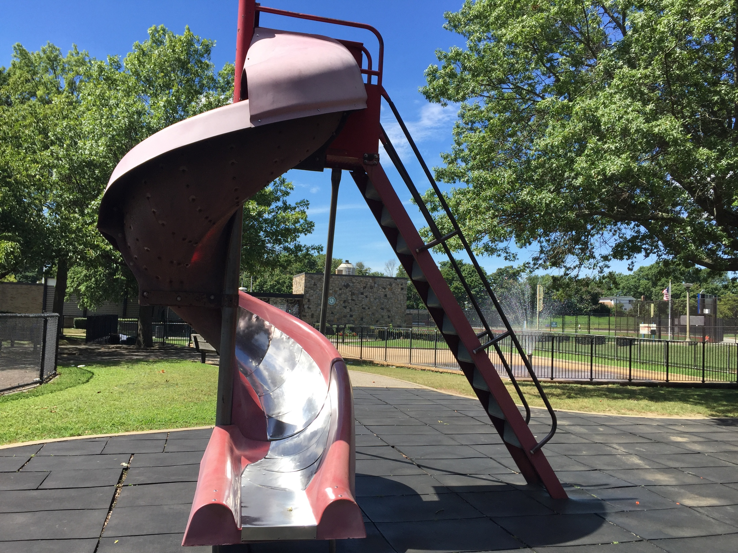 Slide at Grant Park