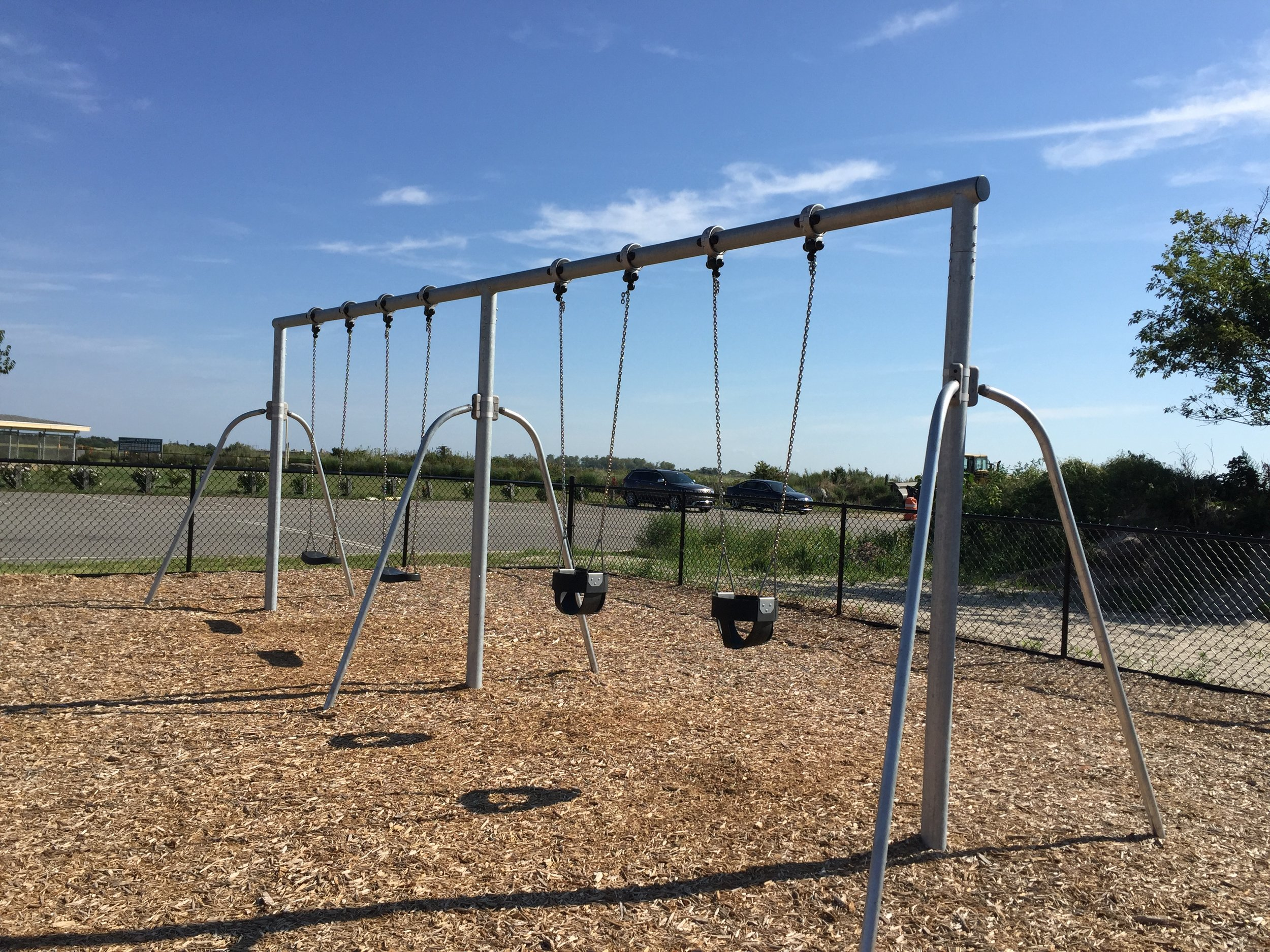 Swings at Point Lookout Park