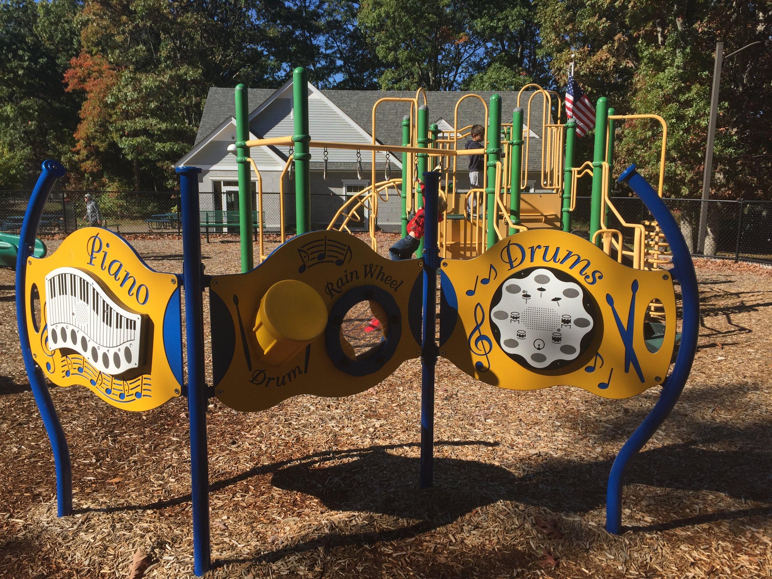 Playground at Haypath Road Park