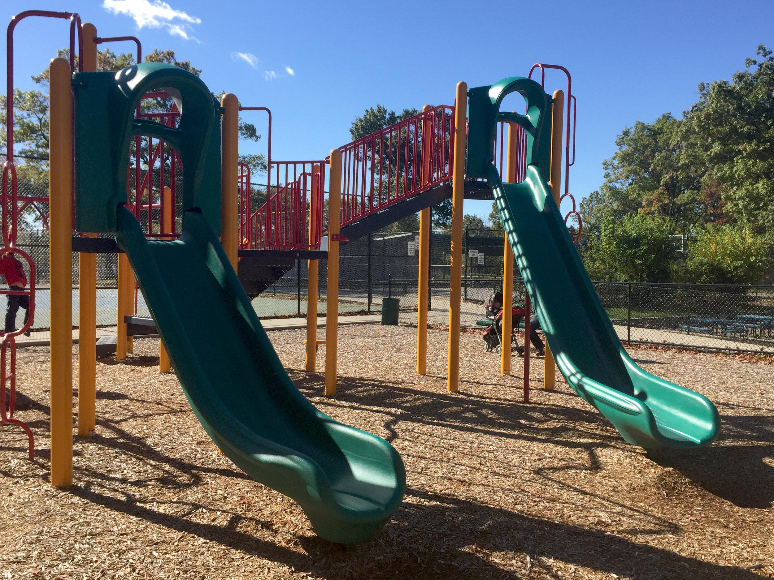 Swings at Haypath Road Park