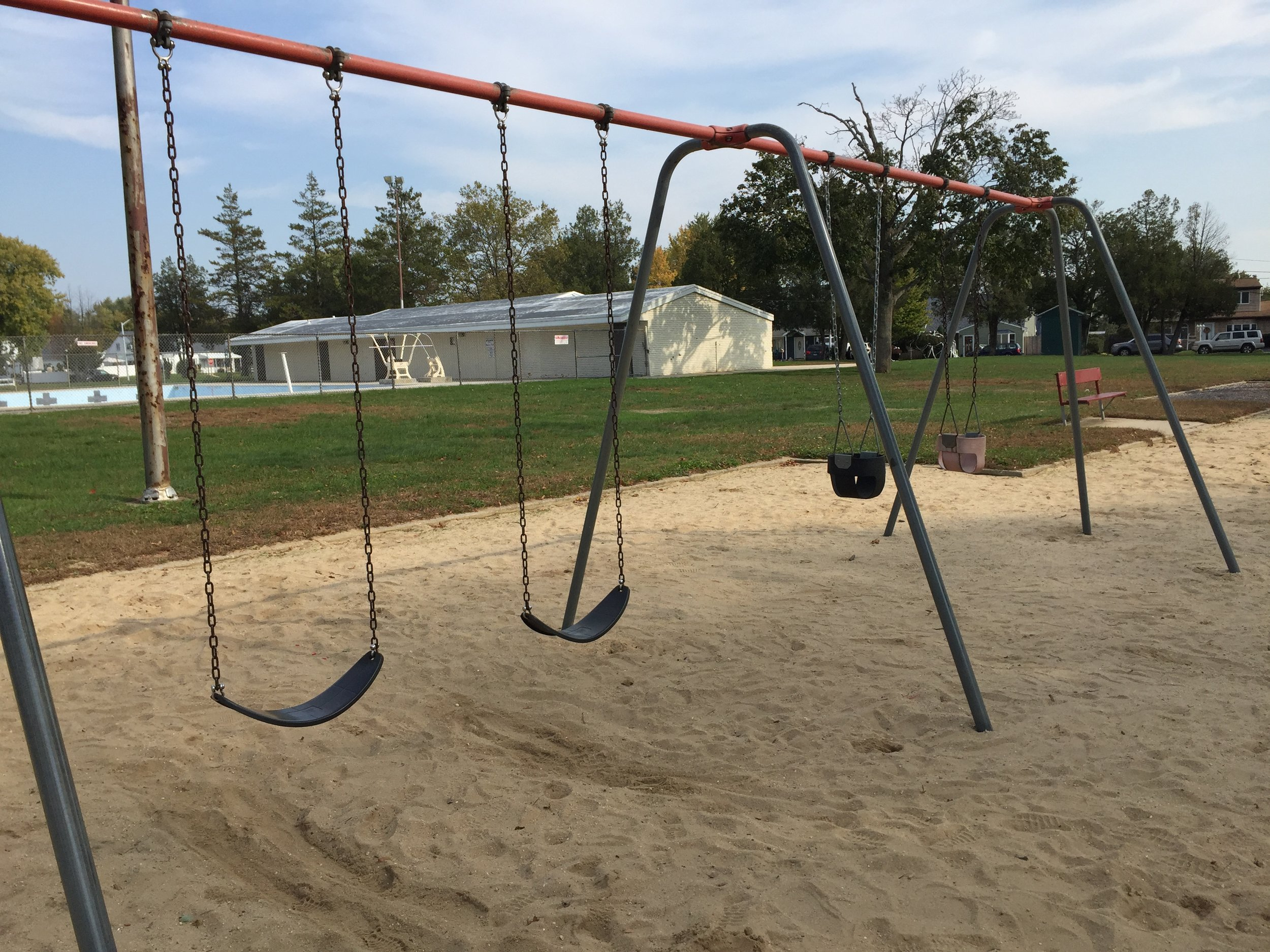 Swings at Acorn Lane Park