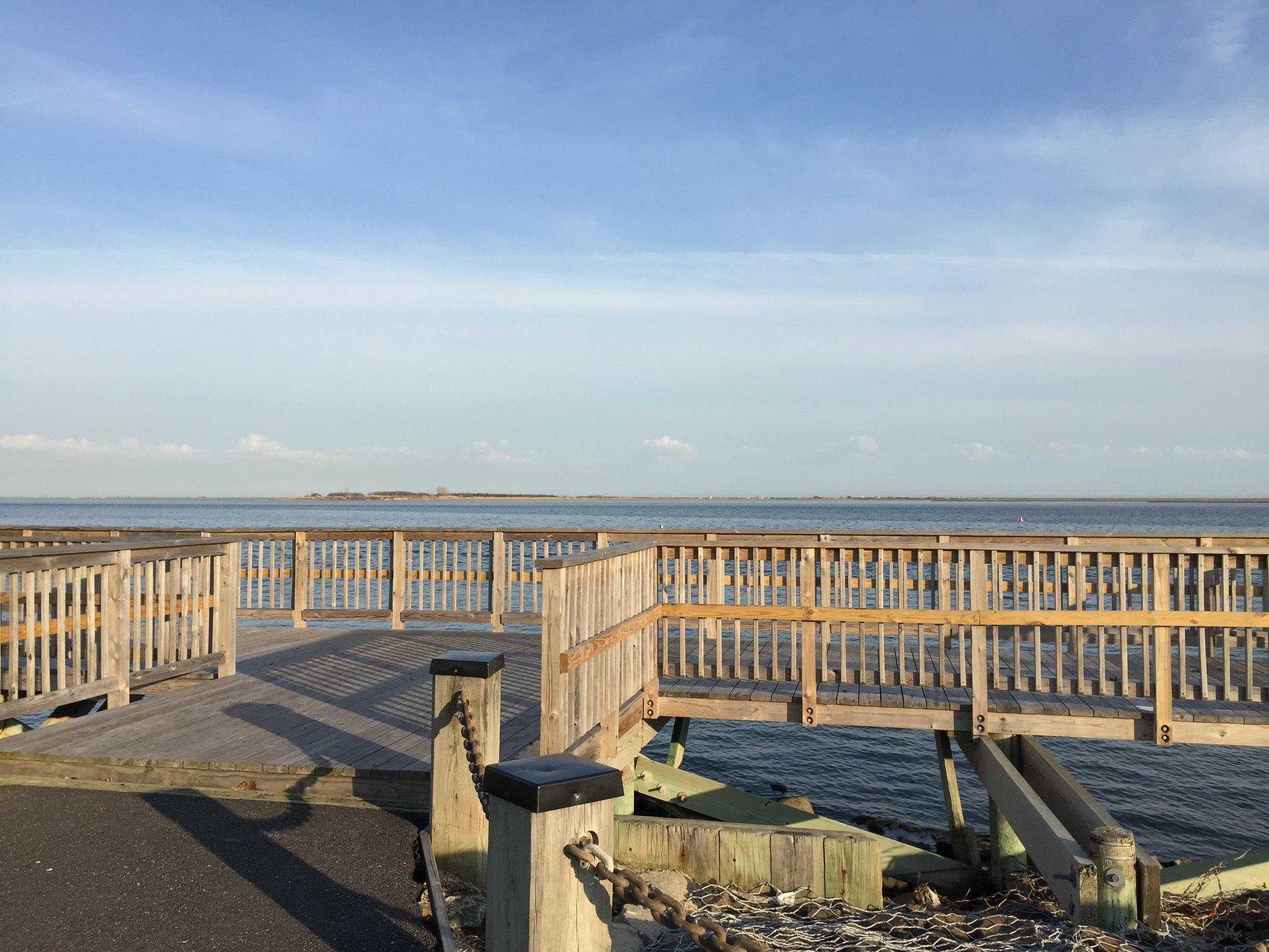 Pier at Nassau Shores Bayfront Park
