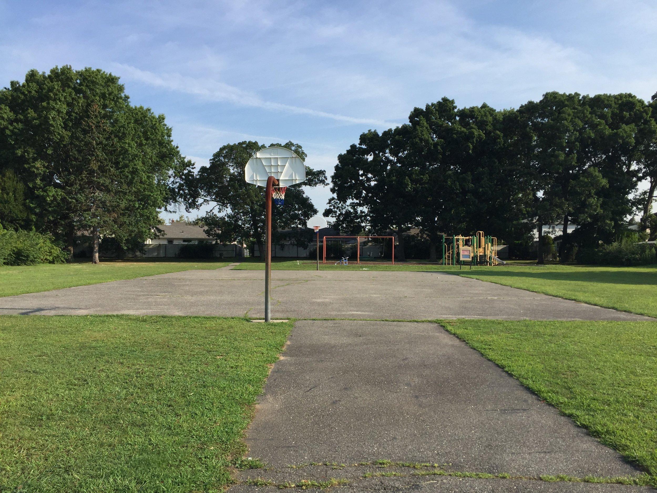 North Oaks Basketball Court