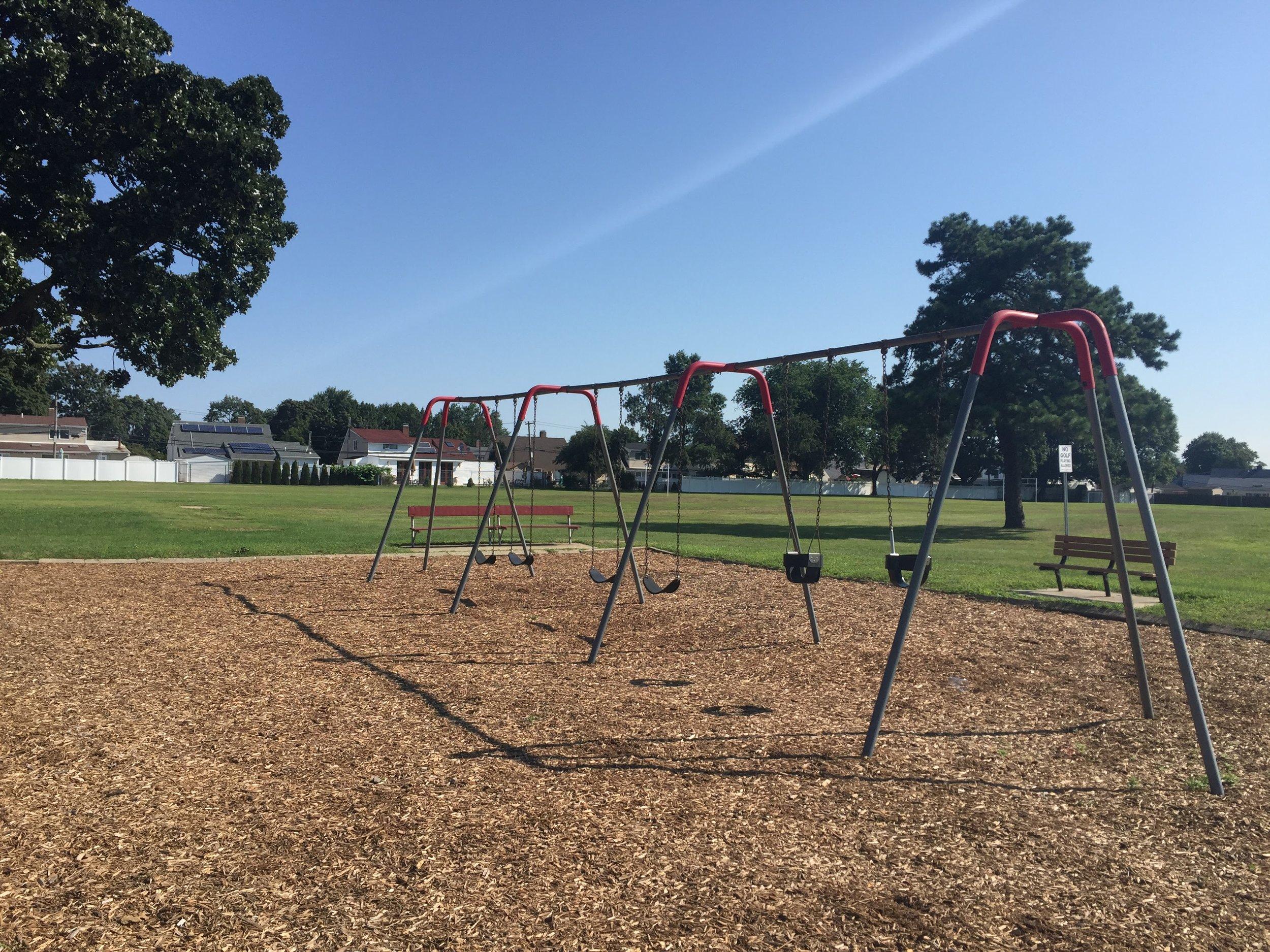 Firefighters Memorial Park Swings