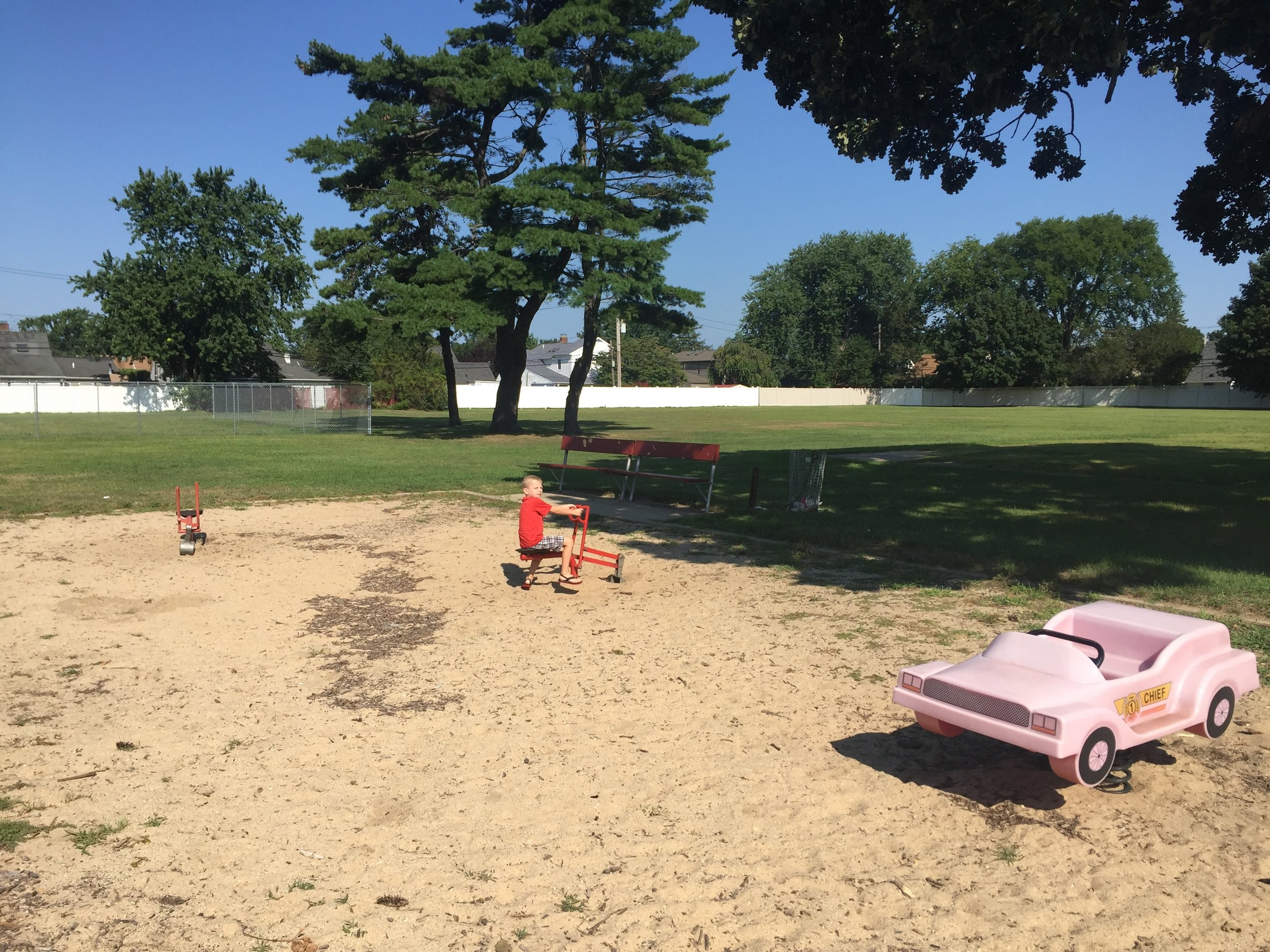 Firefighters Memorial Park Playground