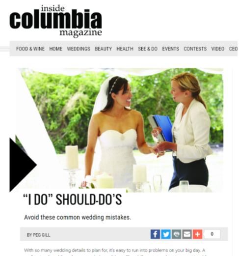"""I Do"" Should Dos"