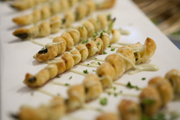 Or have them wrapped in puff pastry for our carb kings and queens out there.