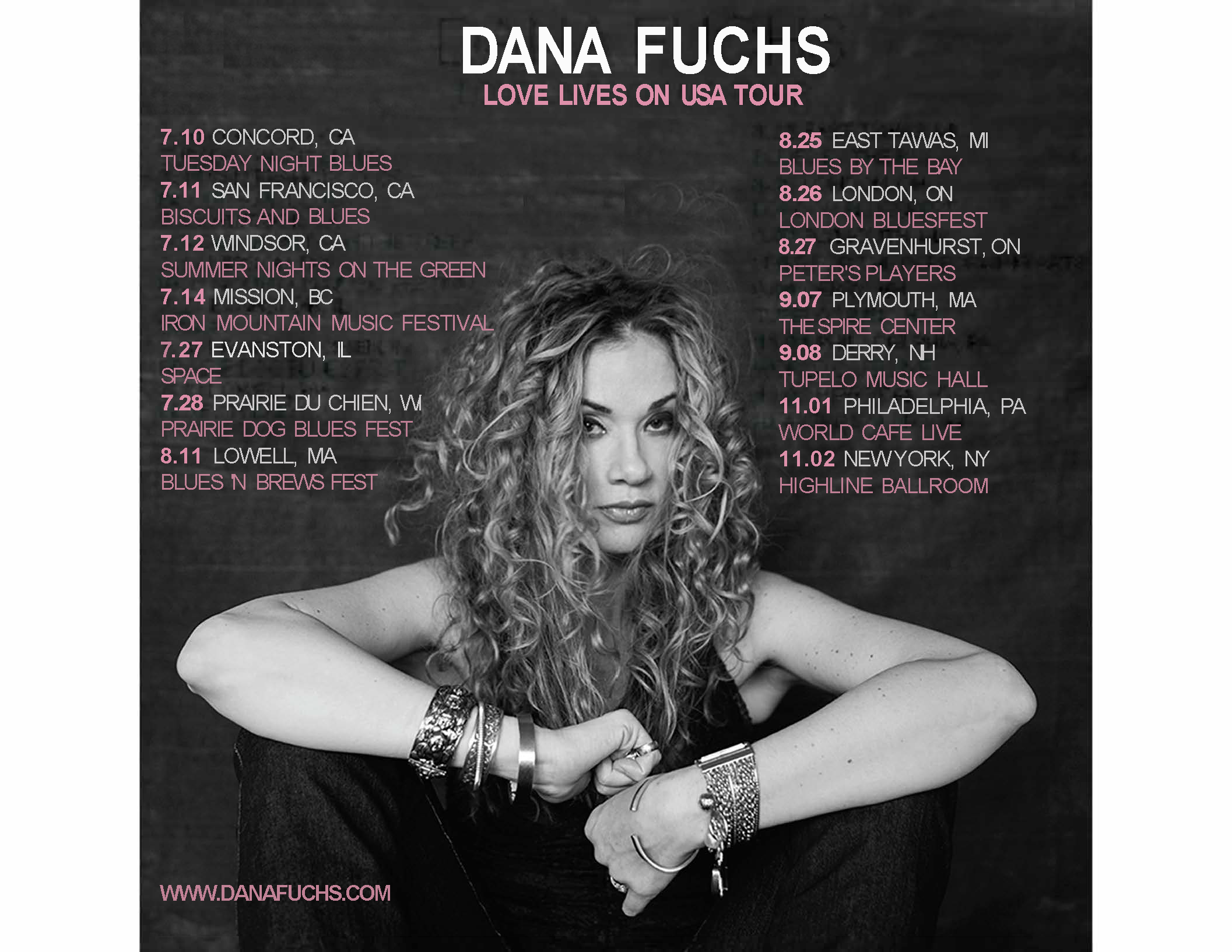 Dana USA TOUR