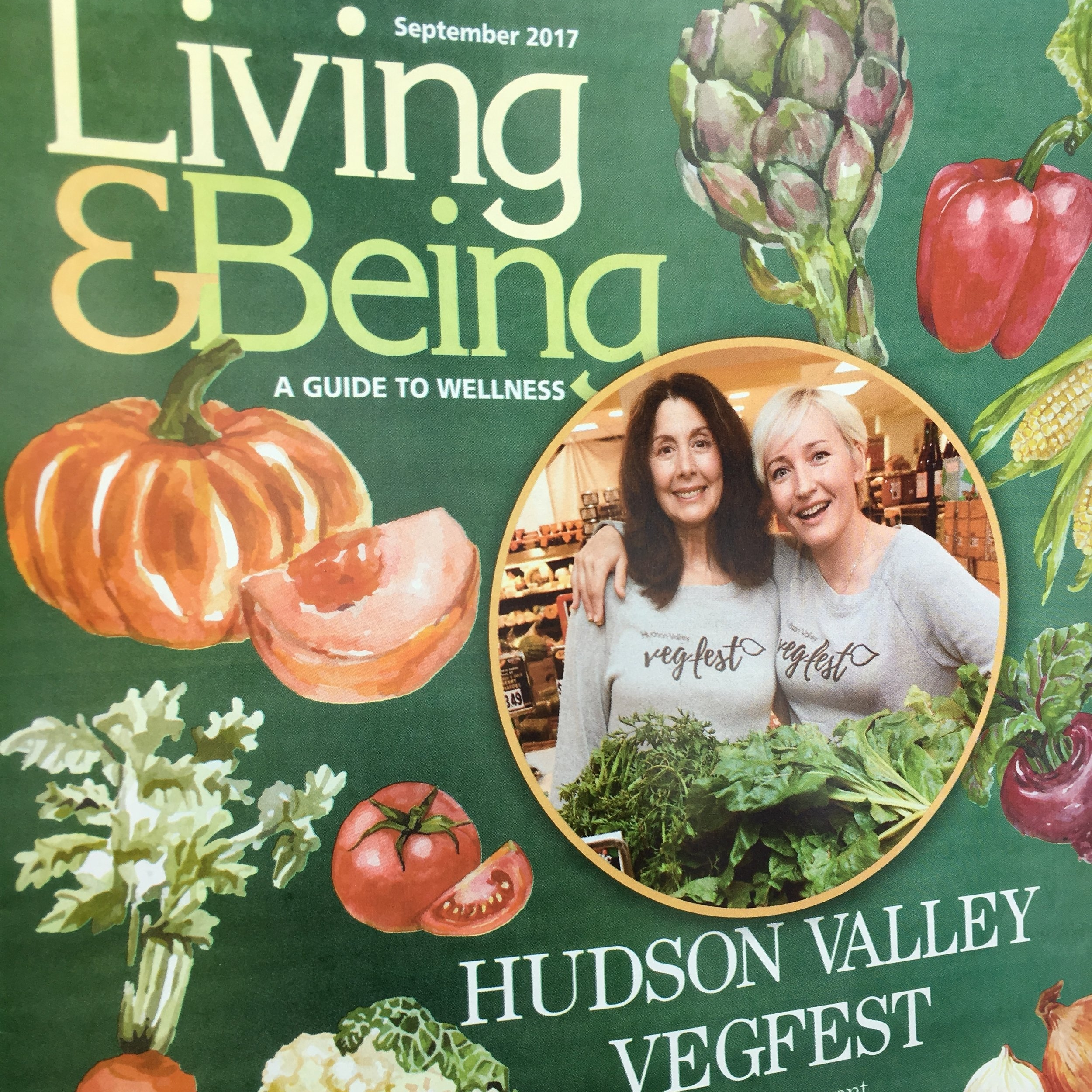 Cover of Living & Being Mag.JPG