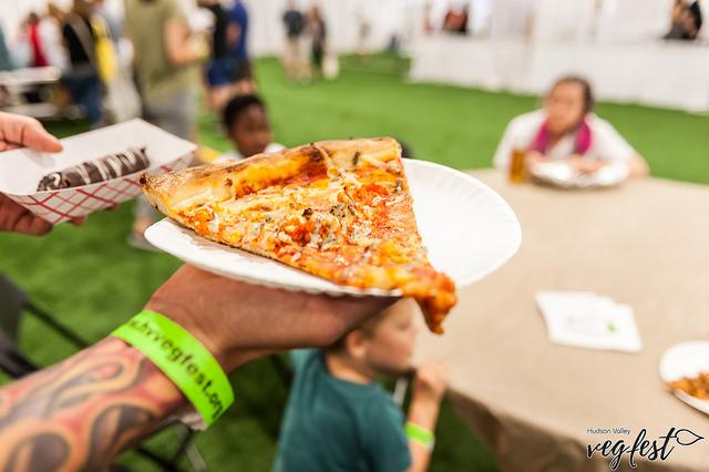 Vegan Pizza at HV Vegfest.jpg