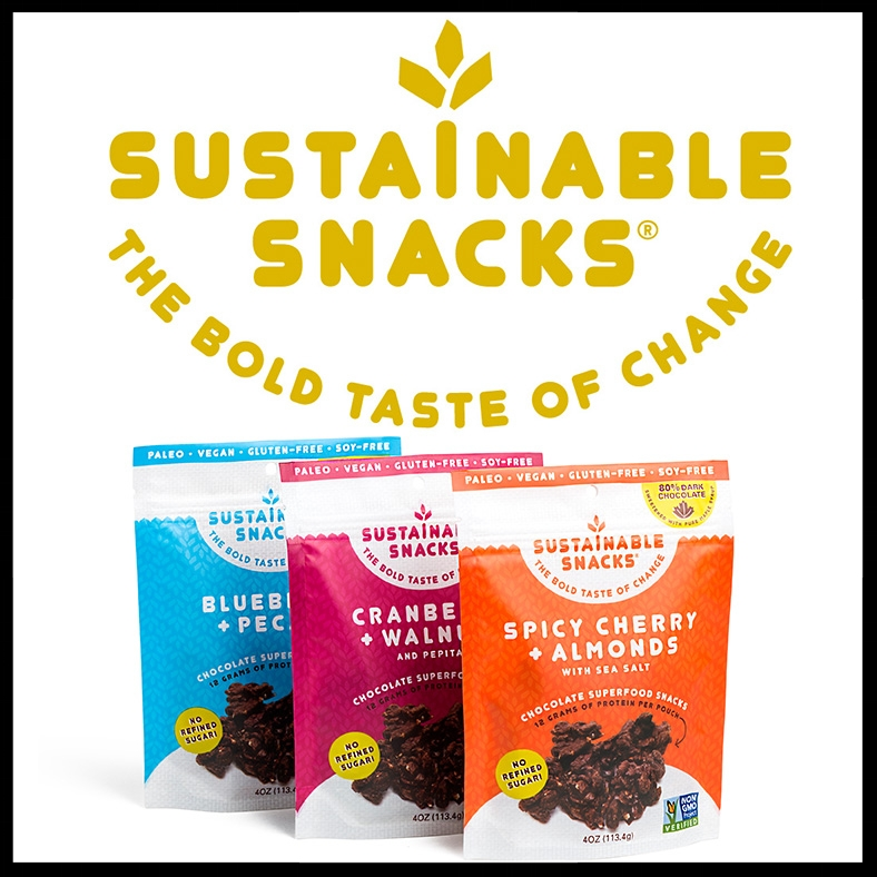 SUSTAINABLE SNACKS