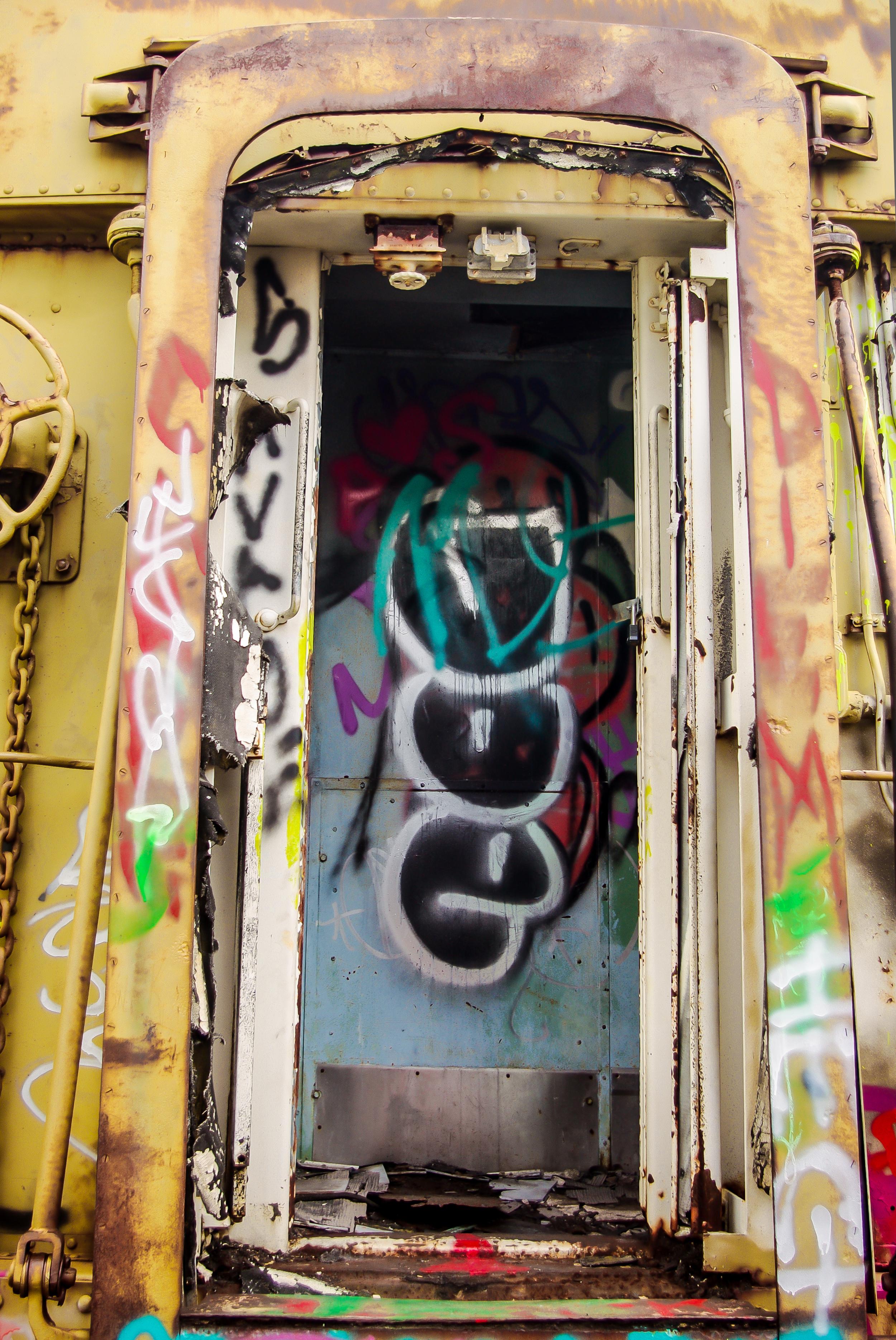 Abandoned Train Car Entrance #1 (1 of 1).jpg