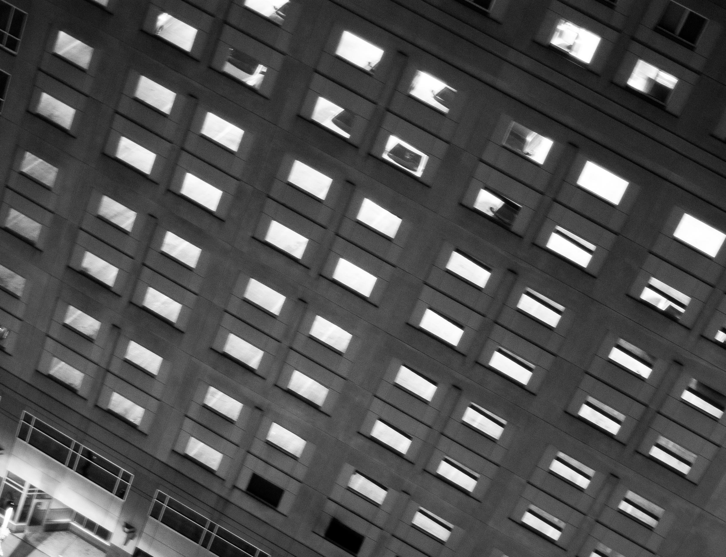 Downtown Minneapolis Building, Night (1 of 1).JPG