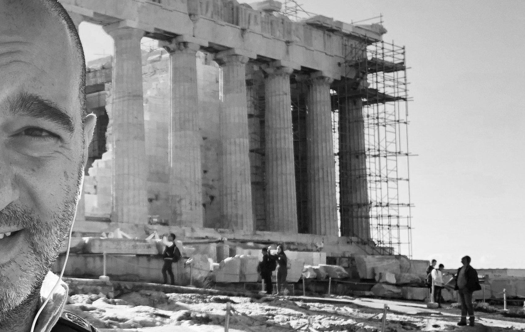 Me. Athens, January 2019