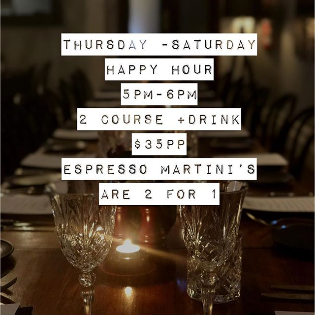 From tonight till Saturday book now #henryslaunceston #datenight #launcestondining #newmenu #happyhour