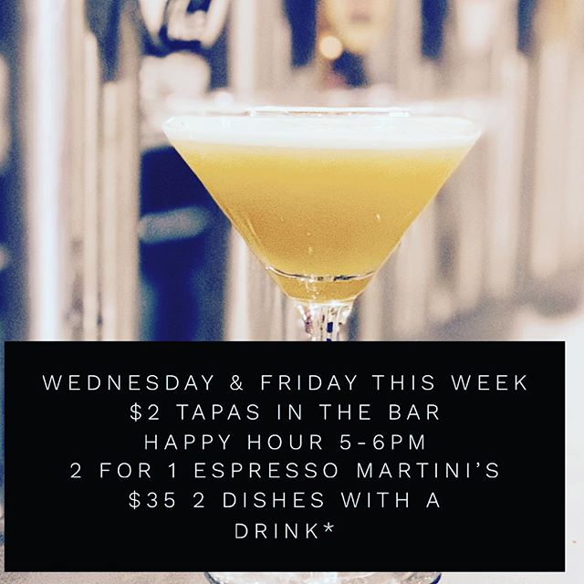 Got tomorrow off .... #henryslaunceston #launcestondining #espressomartini #happyhour