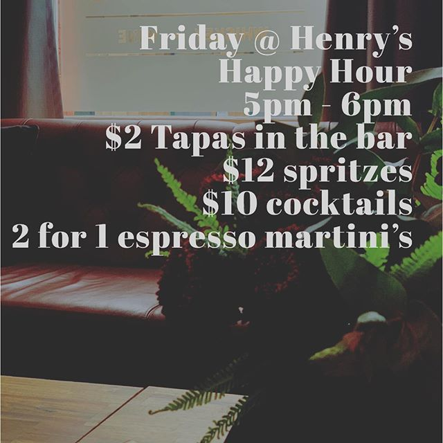 FRIYAY 🙌🙌🙌🙌🙌#henryslaunceston #espressomartini #cocktails #launcestonbars