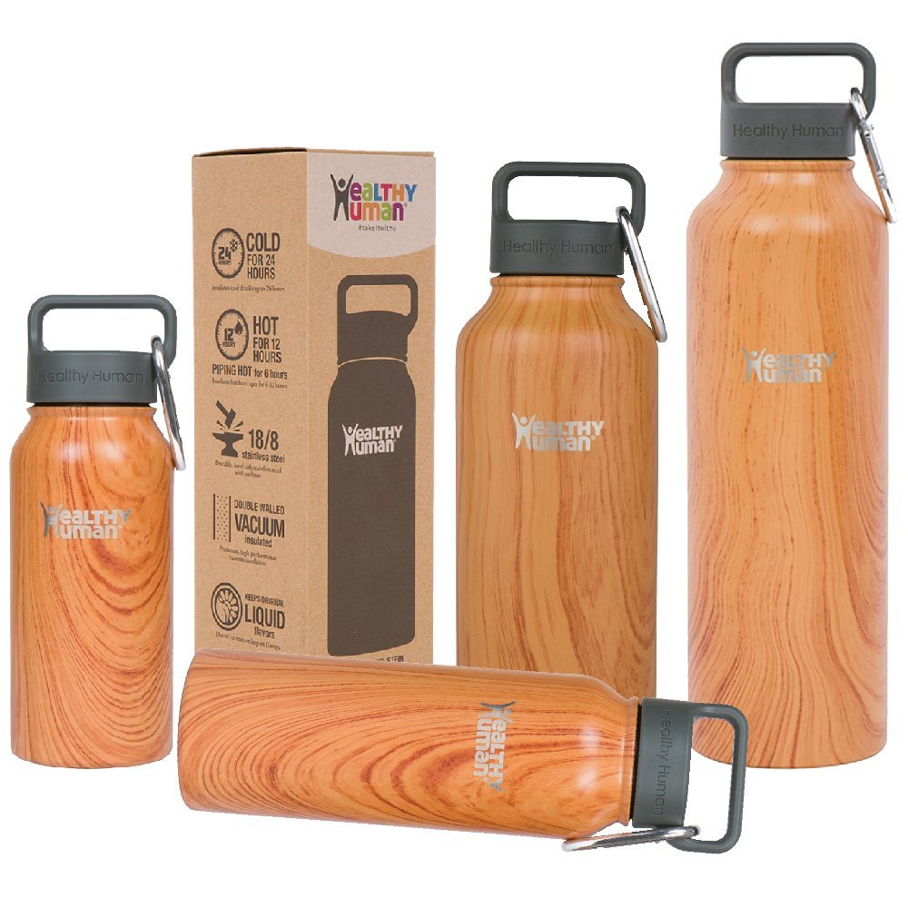 - STAINLESS STEEL WATER BOTTLE
