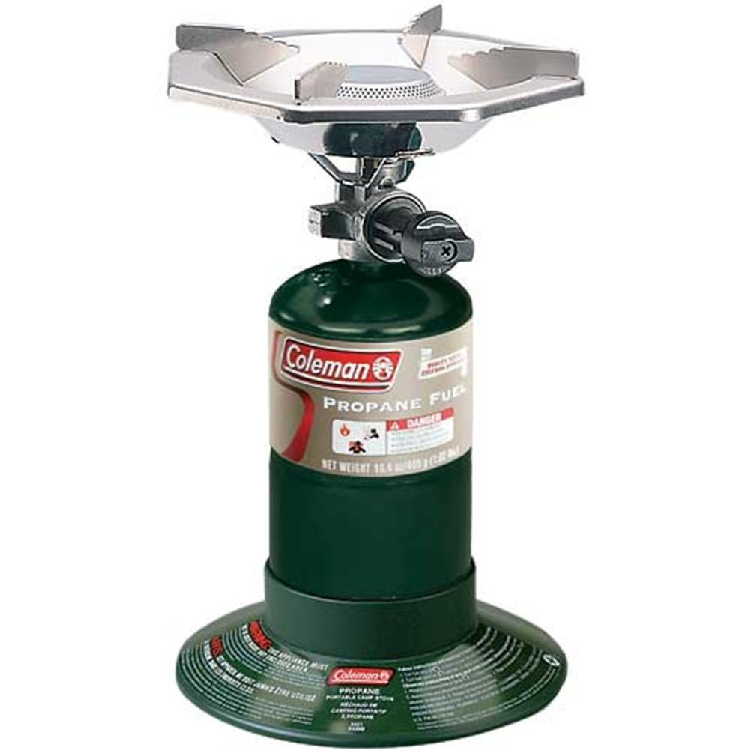 -  COLEMAN BOTTLE TOP PROPANE STOVE