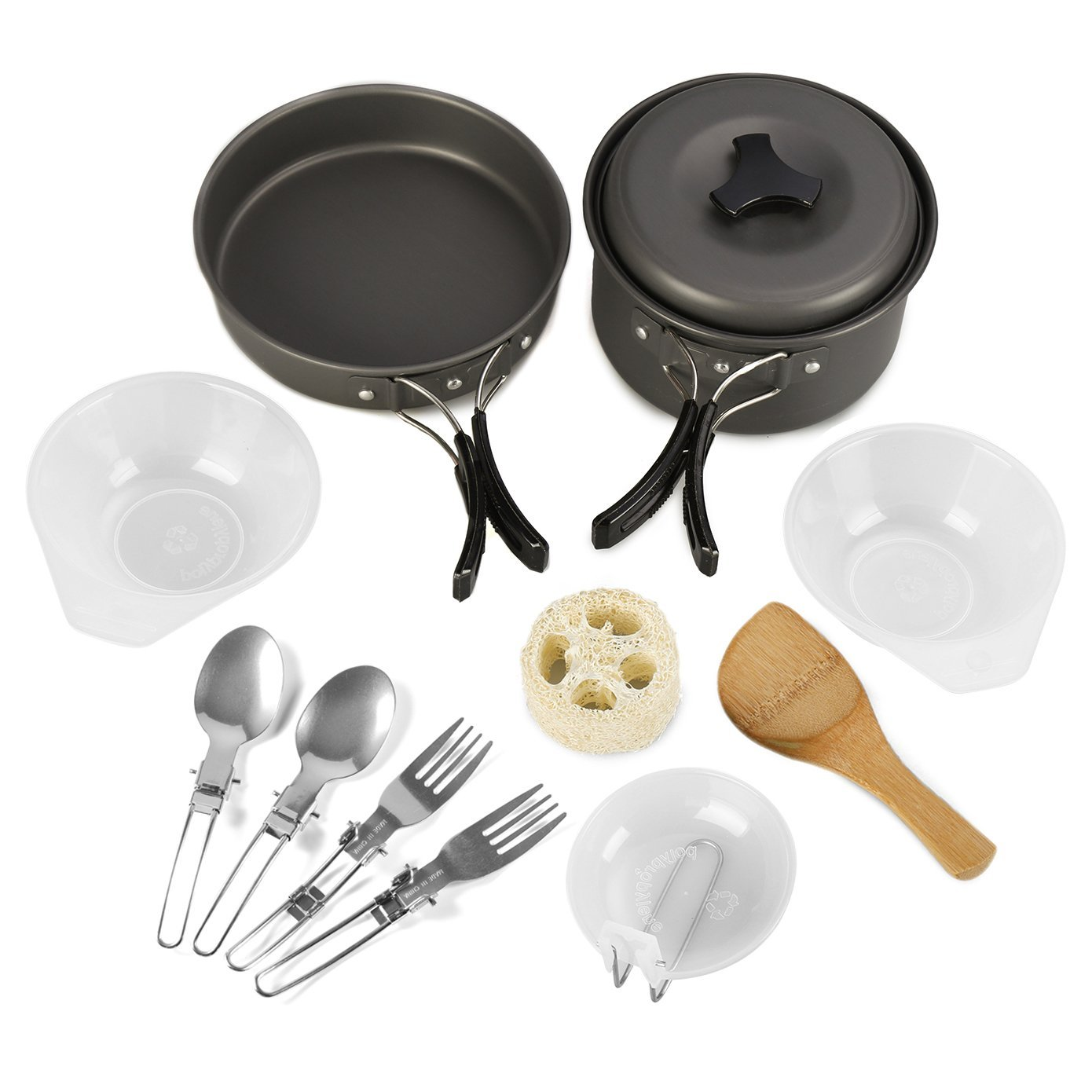-  PORTABLE CAMPING COOK SET