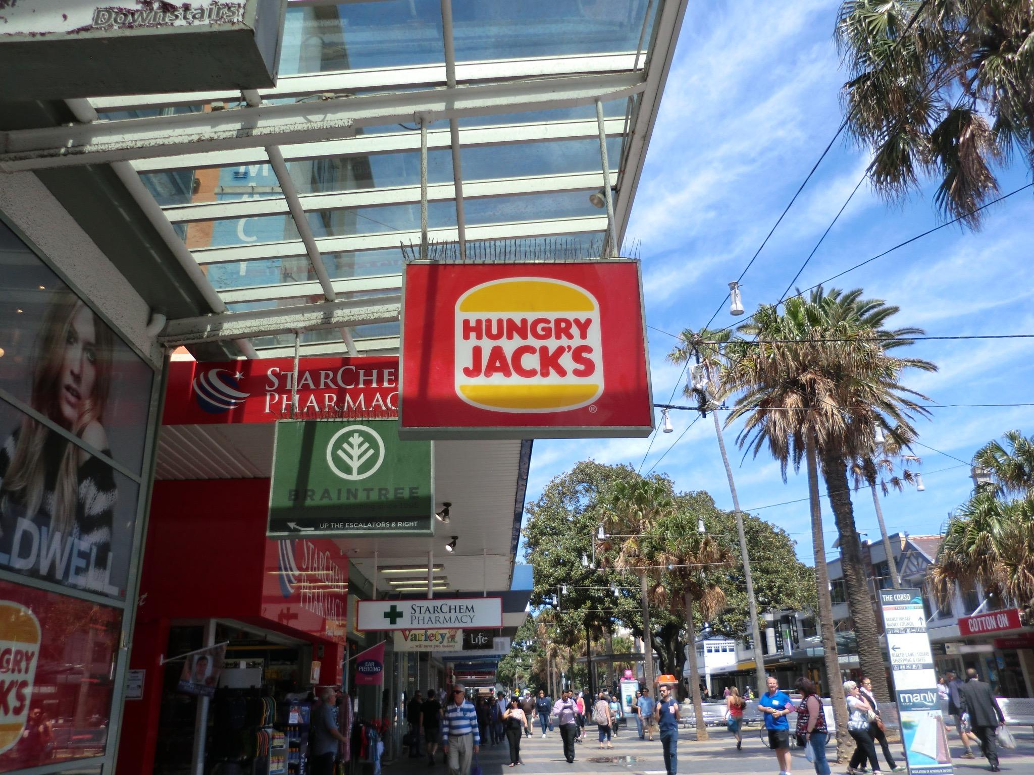 Australia's version of Burger King