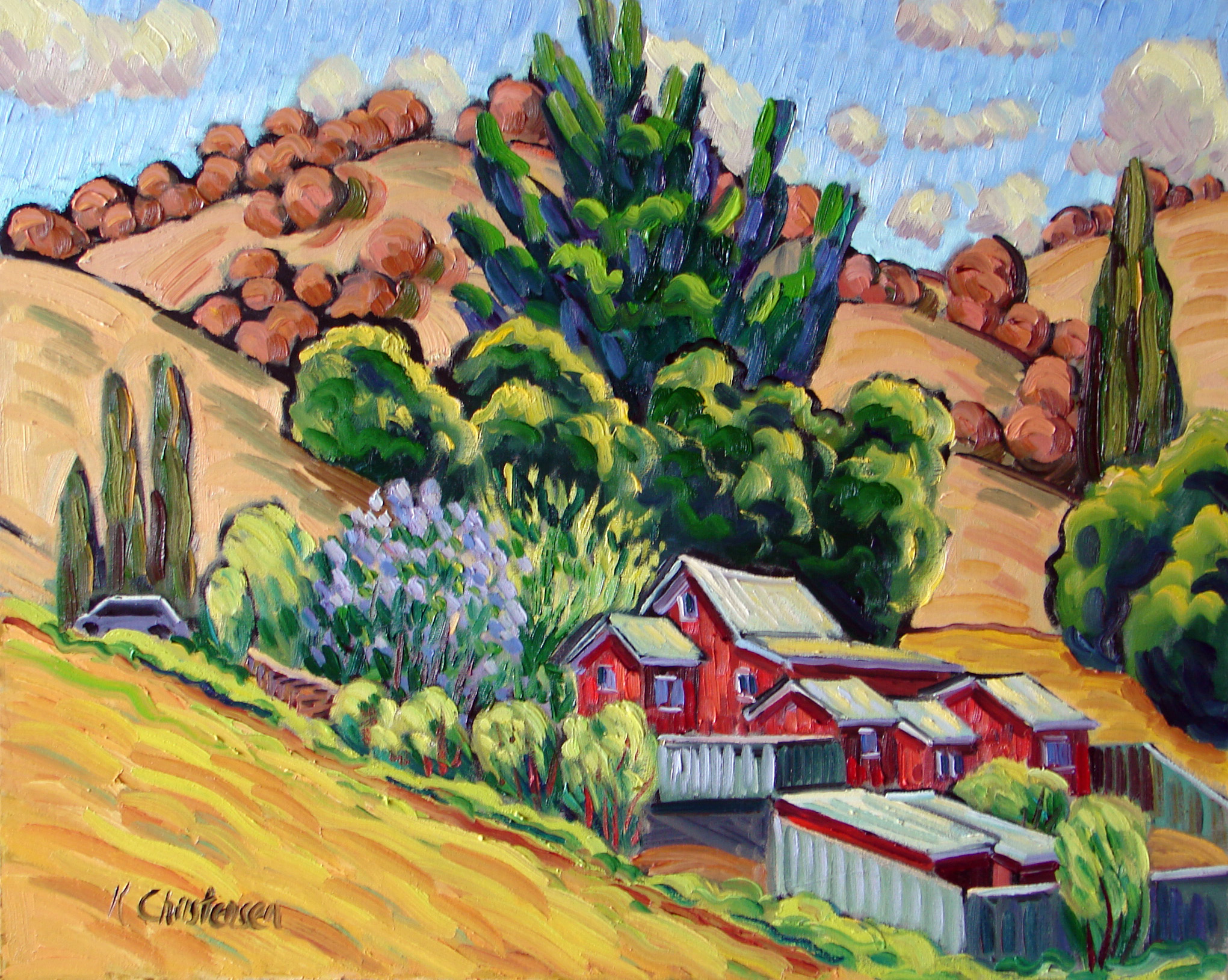 Hillside Ranch 24x30