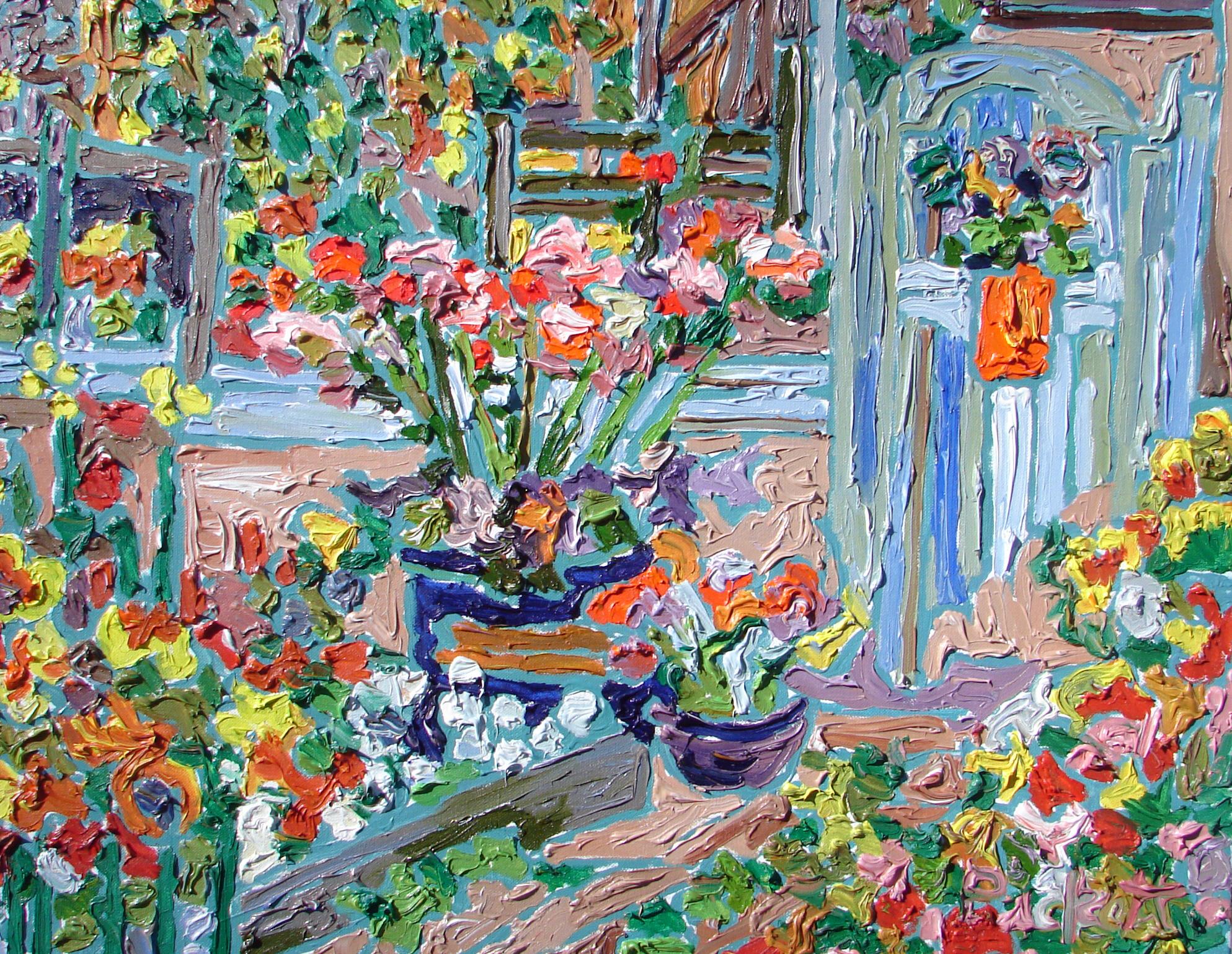 Garden, acrylic, 24x30