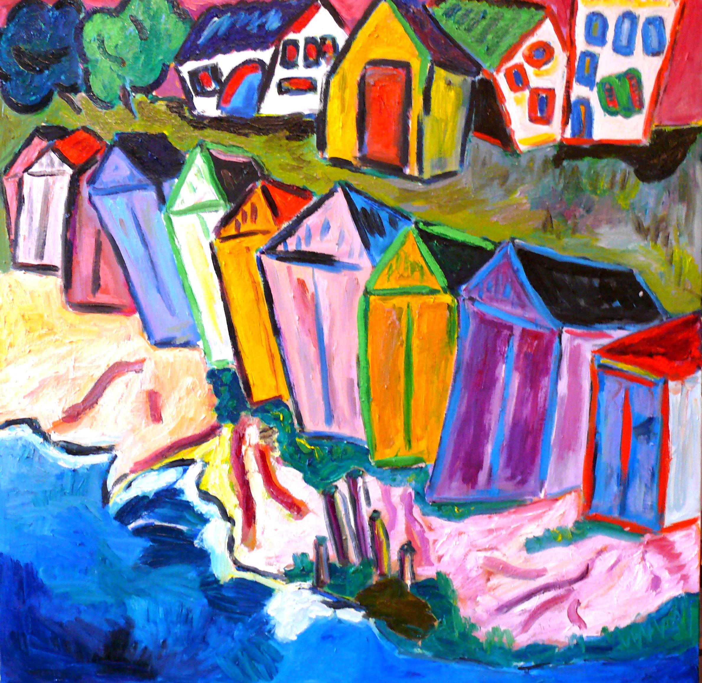 Cabanes de plage 39x39