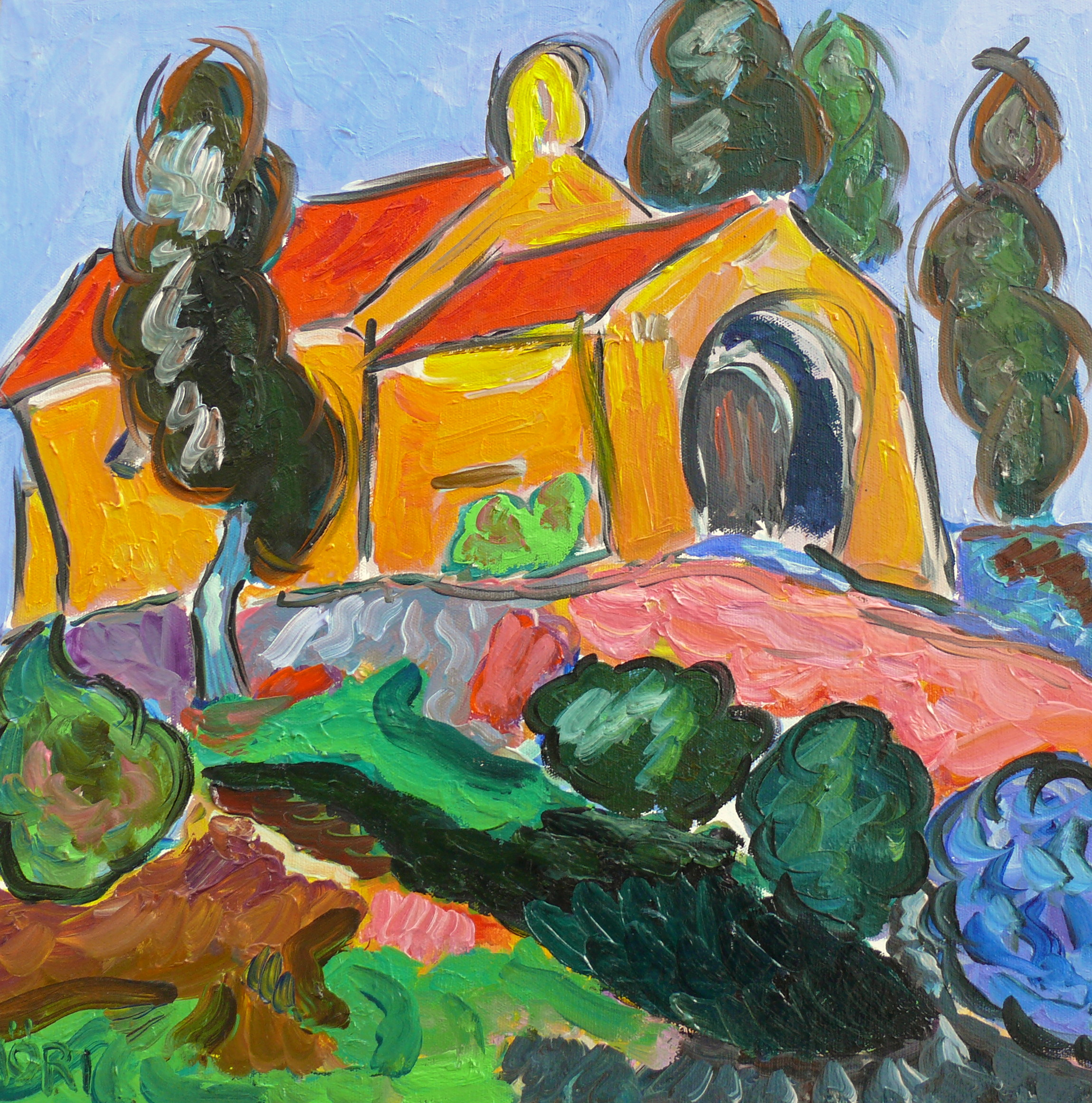 La petite chapelle 20x20