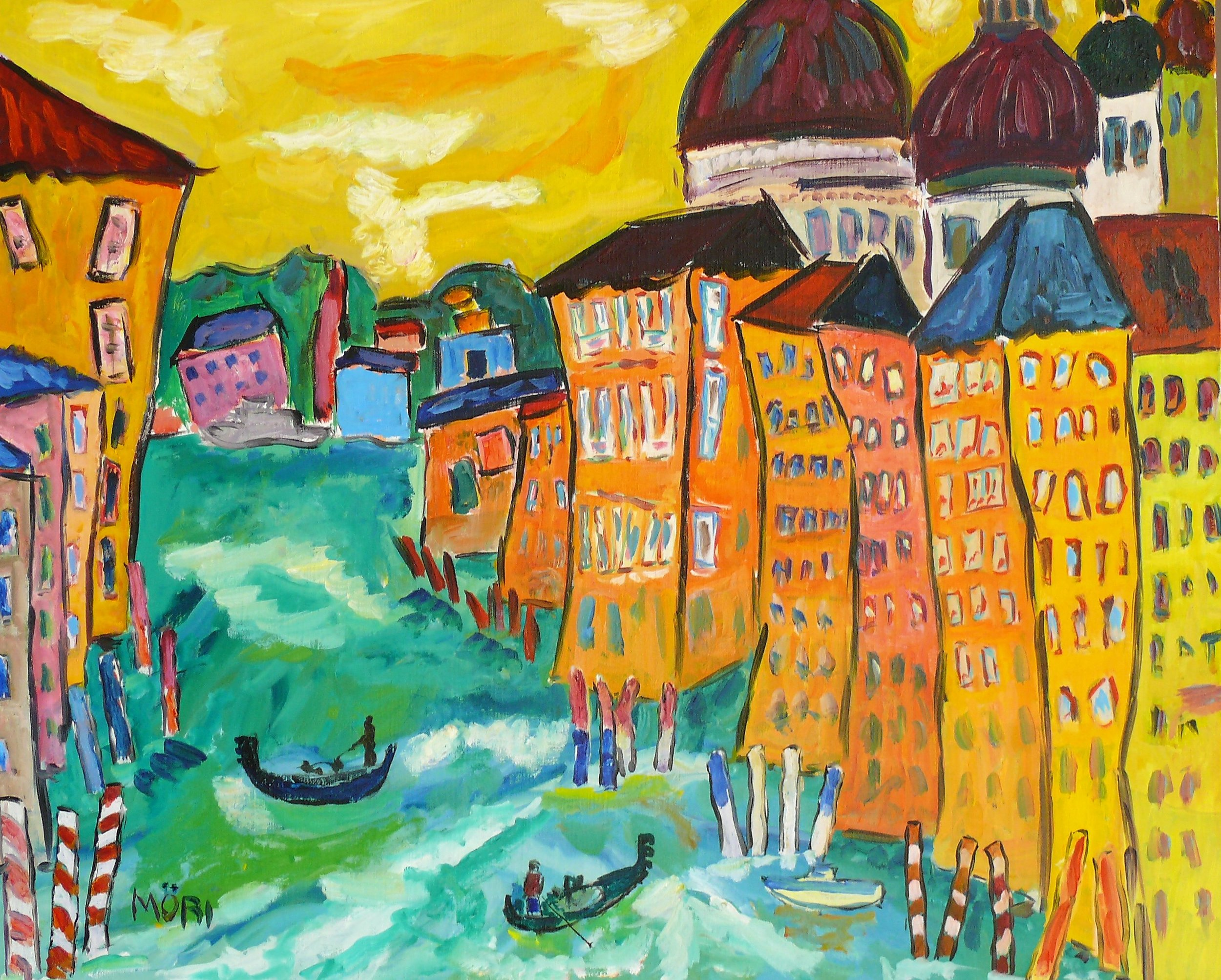 Venise, grand canal   39x32