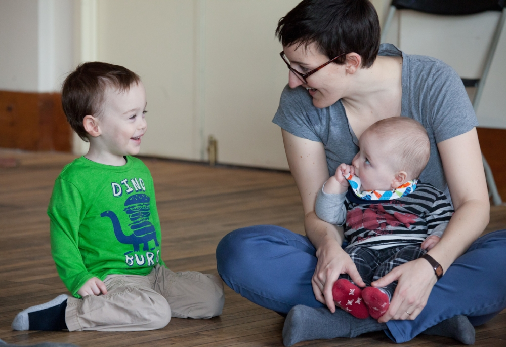 Music classes for babies, toddlers and big kids.