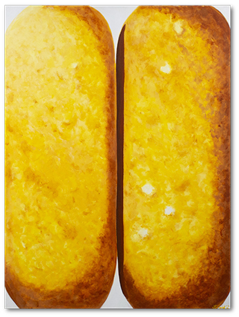 Twinkies.  30x40 inches. Acrylic on canvas.