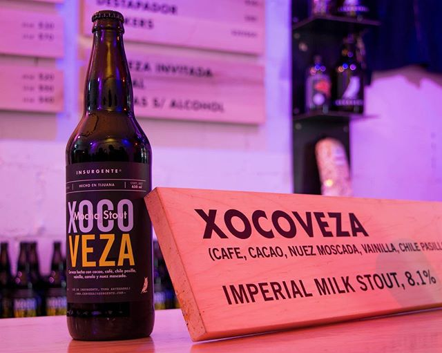 ¿Ya probaste la #Xocoveza2018? Ven a probarla fresca y con todo esa complejidad que llevas un año esperando tomar. Disponible en botella y barril. #SéInsurgente #CraftBeer #MochaStout #TapRoom #XocoFever
