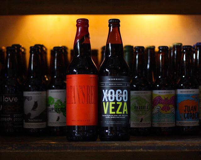 ¡Ya disponibles en #CDMX!  #SatansRed, #Xocoveza y todas nuestras cervezas las encuentras en @labelgamx ¡Date una vuelta y #SéInsurgente! #CraftBeer #MochaStout #BBA #ImperialRedAle