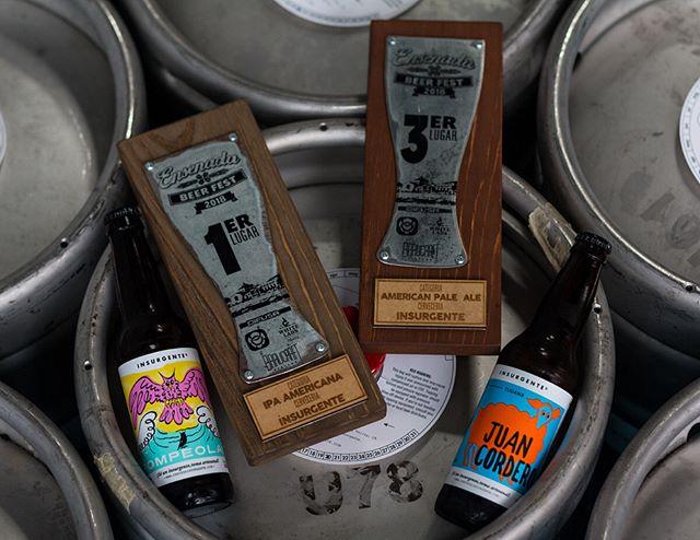 Después de un fin de semana de fiesta en el Ensenada beer fest regresamos a trabajar con dos premios más. #Rompeolas ganó oro en la categoría de IPA Americanas, y #JuanCordero bronce en la categoría de American Pale Ale. Gracias a los organizadores y a todos los que nos visitaron en nuestro stand. ¡Nos vemos en la próxima edición! #SéInsurgente #EBF2018 #CraftBeer #BeerFestival #Ensenada