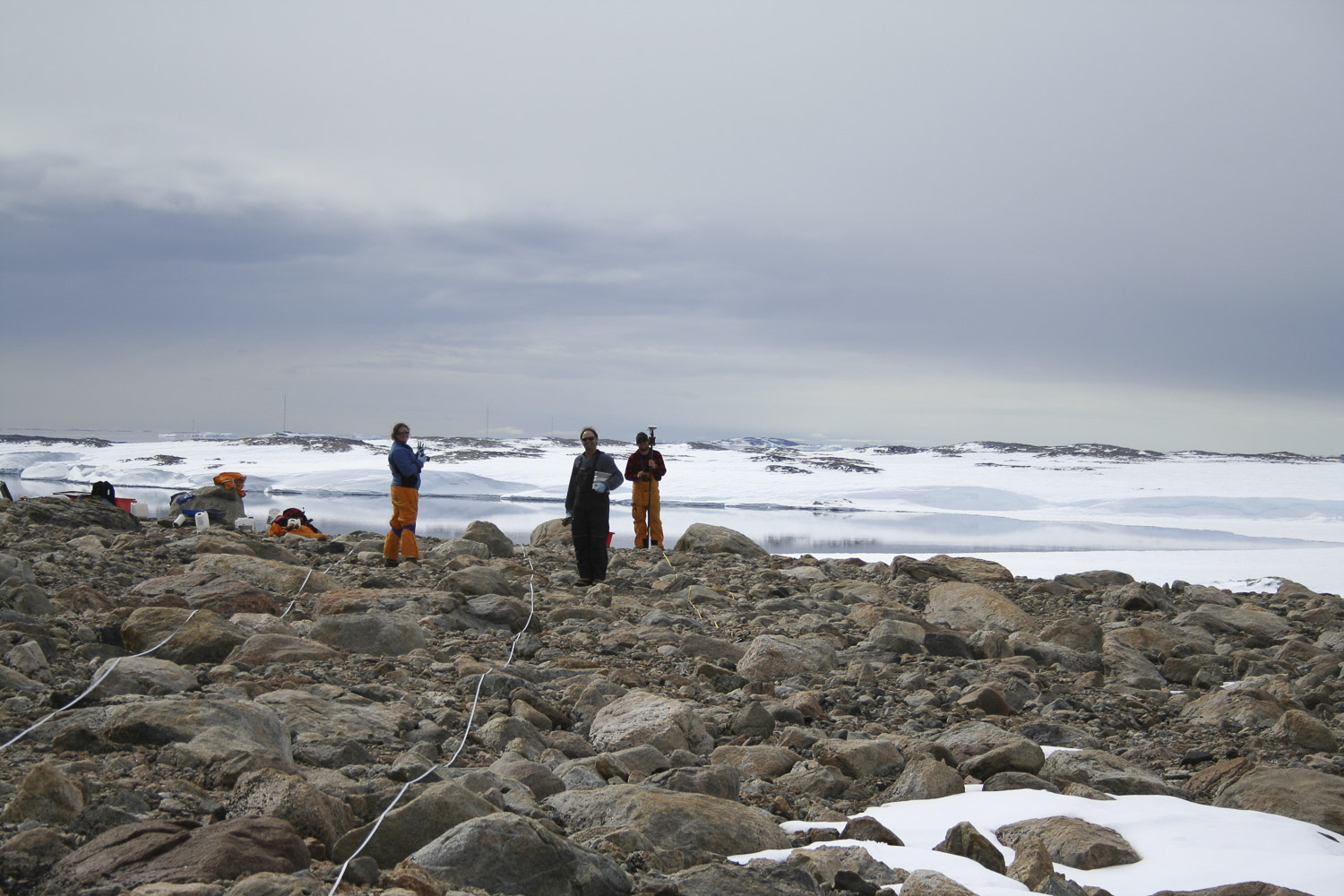 Antarctic soil biodiversity sampling site