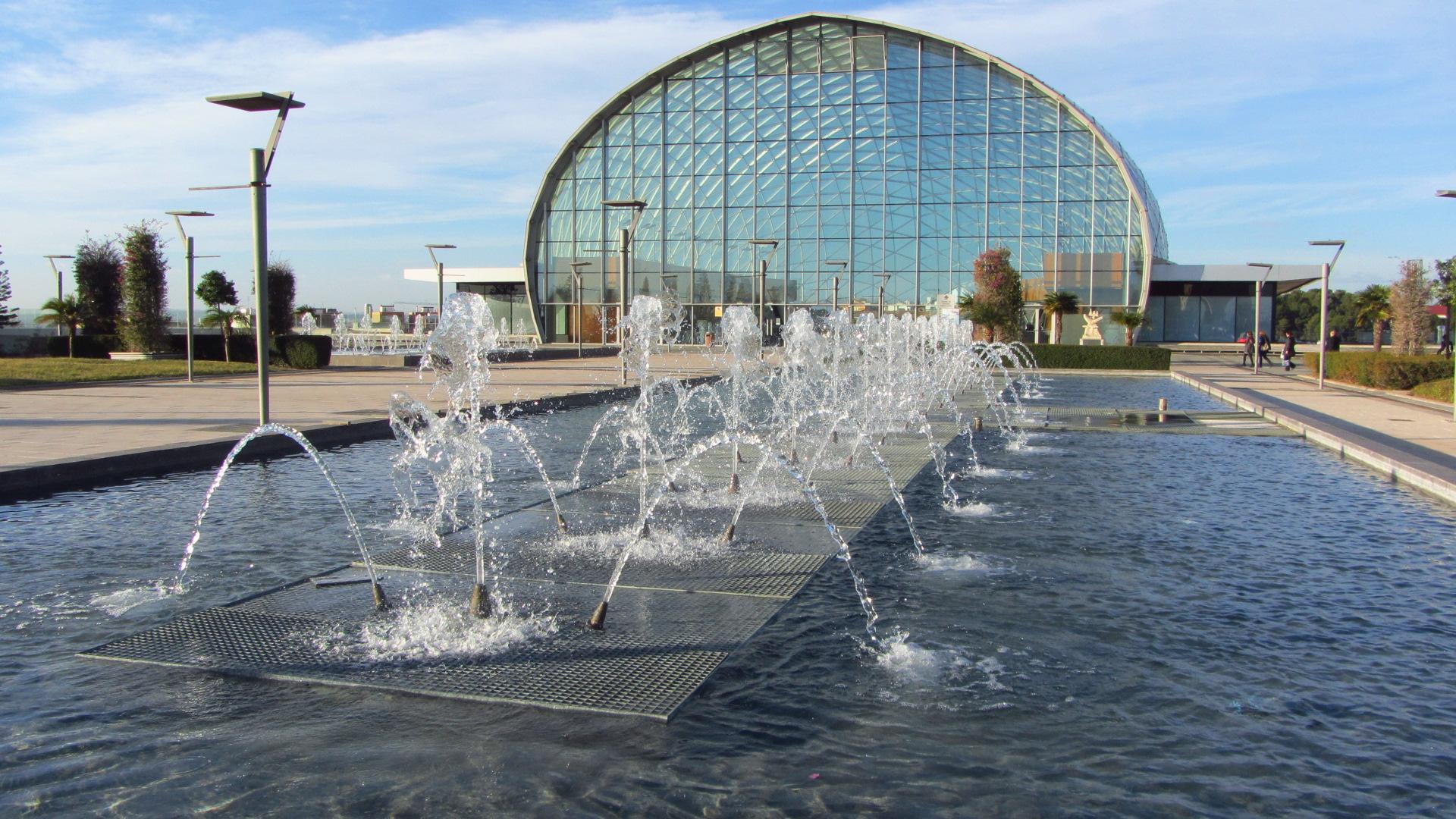 Image:  Magníficas instalaciones de Feria Valencia. Image taken by Nicole Benaud.