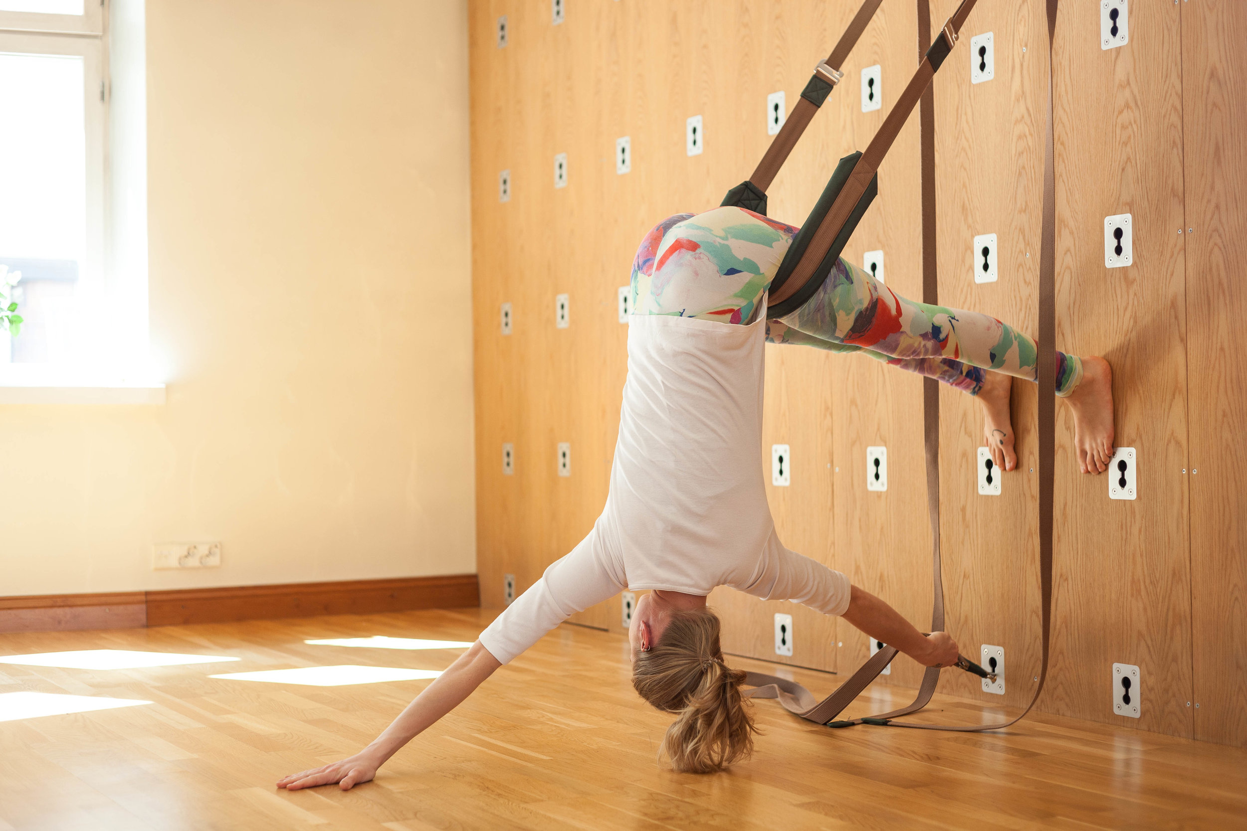 In this class we work on Heartfull™ meditation and alignment based asana with the help of the Yoga Wall.