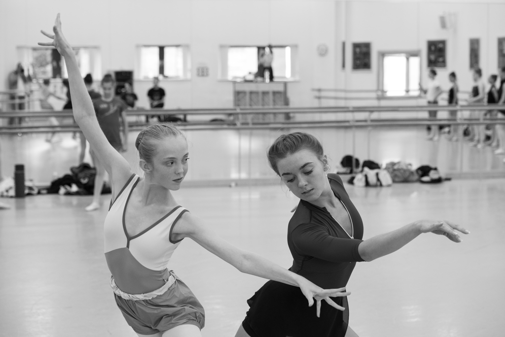 'Ada' in rehearsal at National Youth Ballet