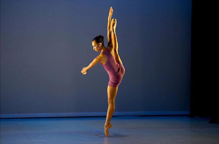 Nicole Kabera in Twin Figures