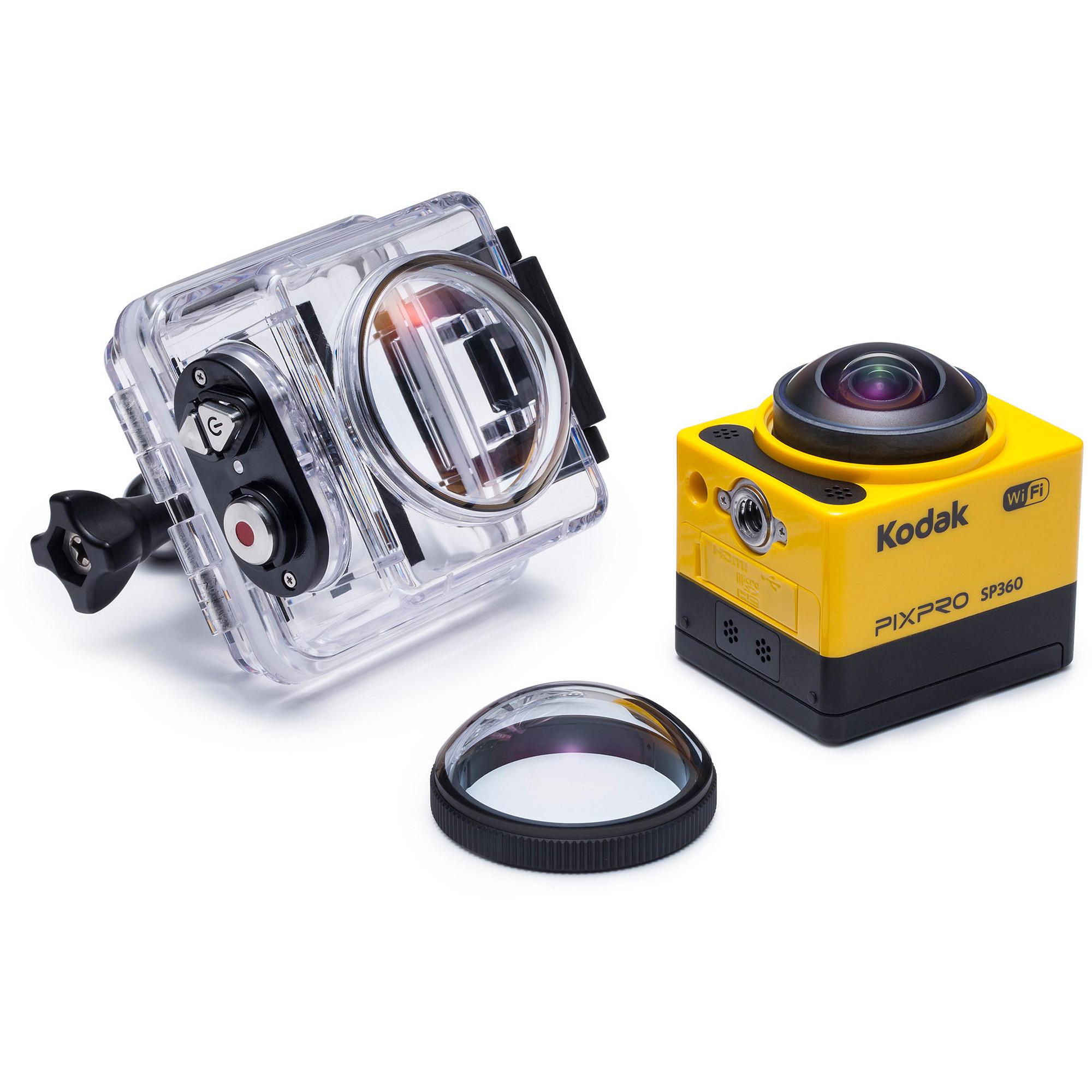 Kamera Kodak SP360 Action Camera może rejestrować filmy 360-stopniowe i jest relatywnie tania.