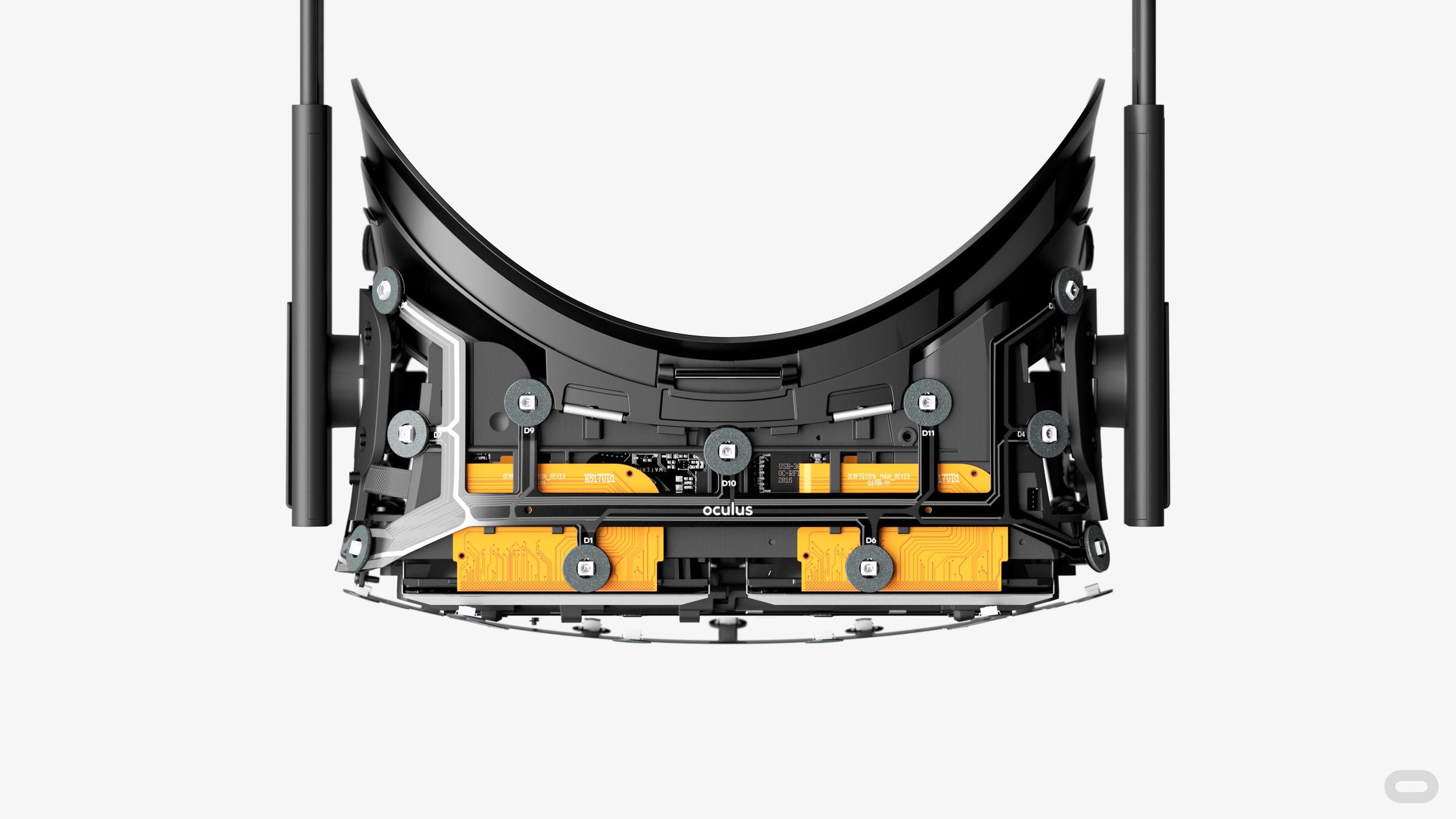 Oculus Rift to najpopularniejsze gogle do VR. Współpracują z komputerami.