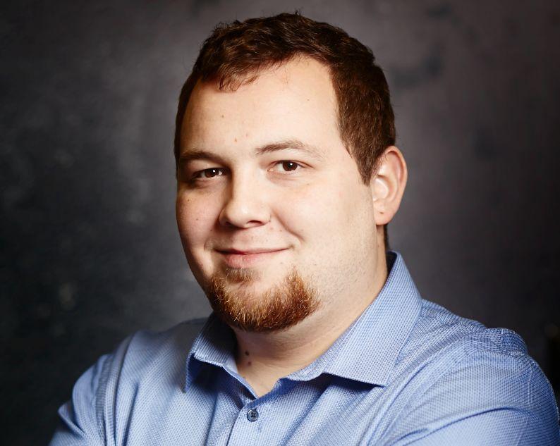 Borys Baran, CEO firmy JustChopped Sp. z o.o.